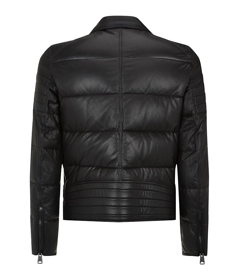 Moncler leather jacket