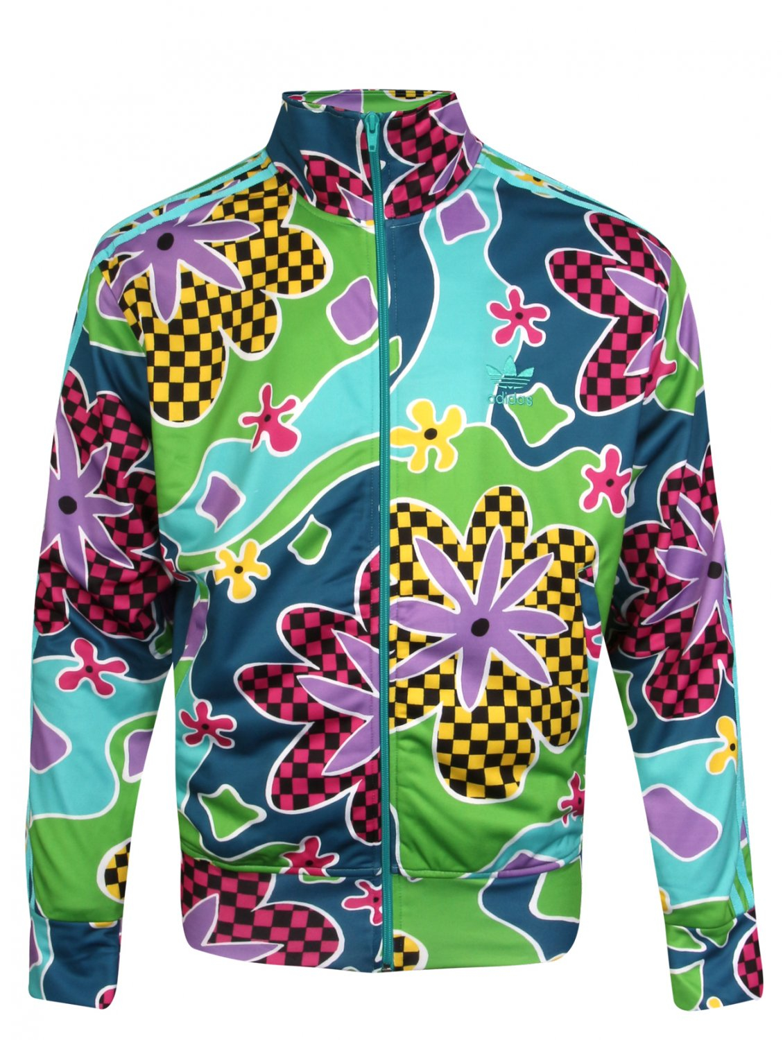 Jeremy Scott X Adidas Psychedelic Floral Shellsuit Jacket for Men - Lyst cfcbbd30b