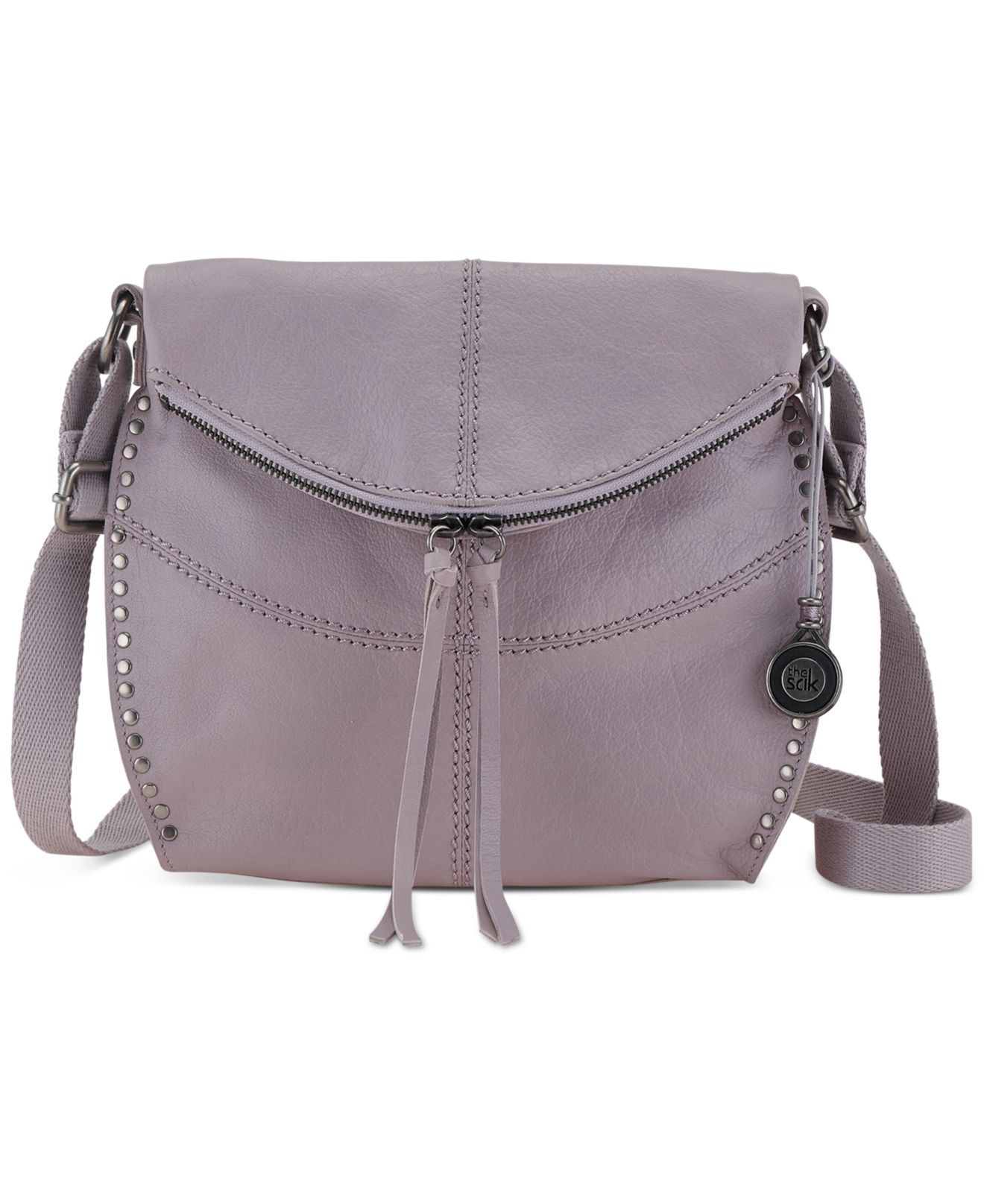 84bc28a6c857 Lyst - The Sak Silverlake Leather Crossbody in Purple