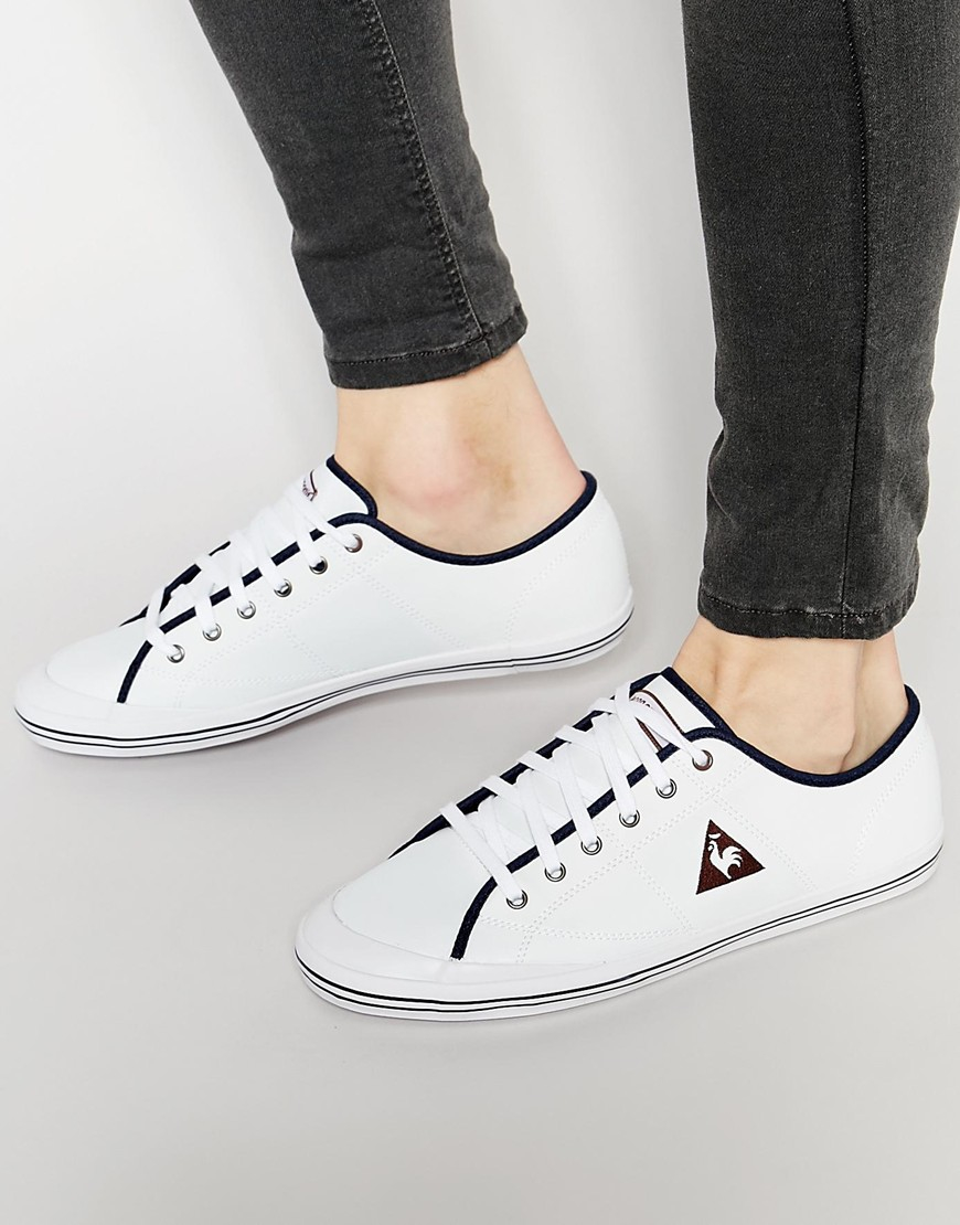 lyst le coq sportif grandville sneakers in white for men. Black Bedroom Furniture Sets. Home Design Ideas