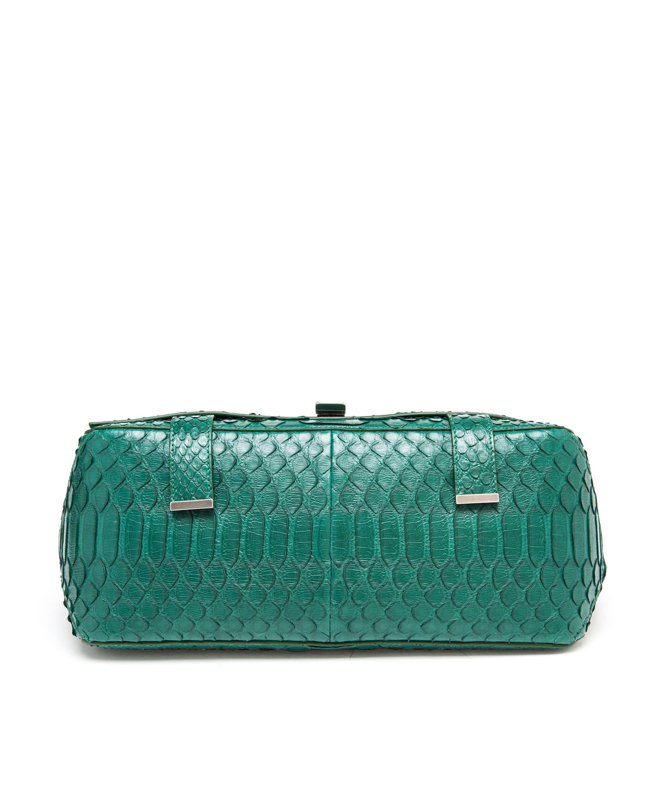 Proenza Schouler Courier Bag Python Large E8d1cF3yk