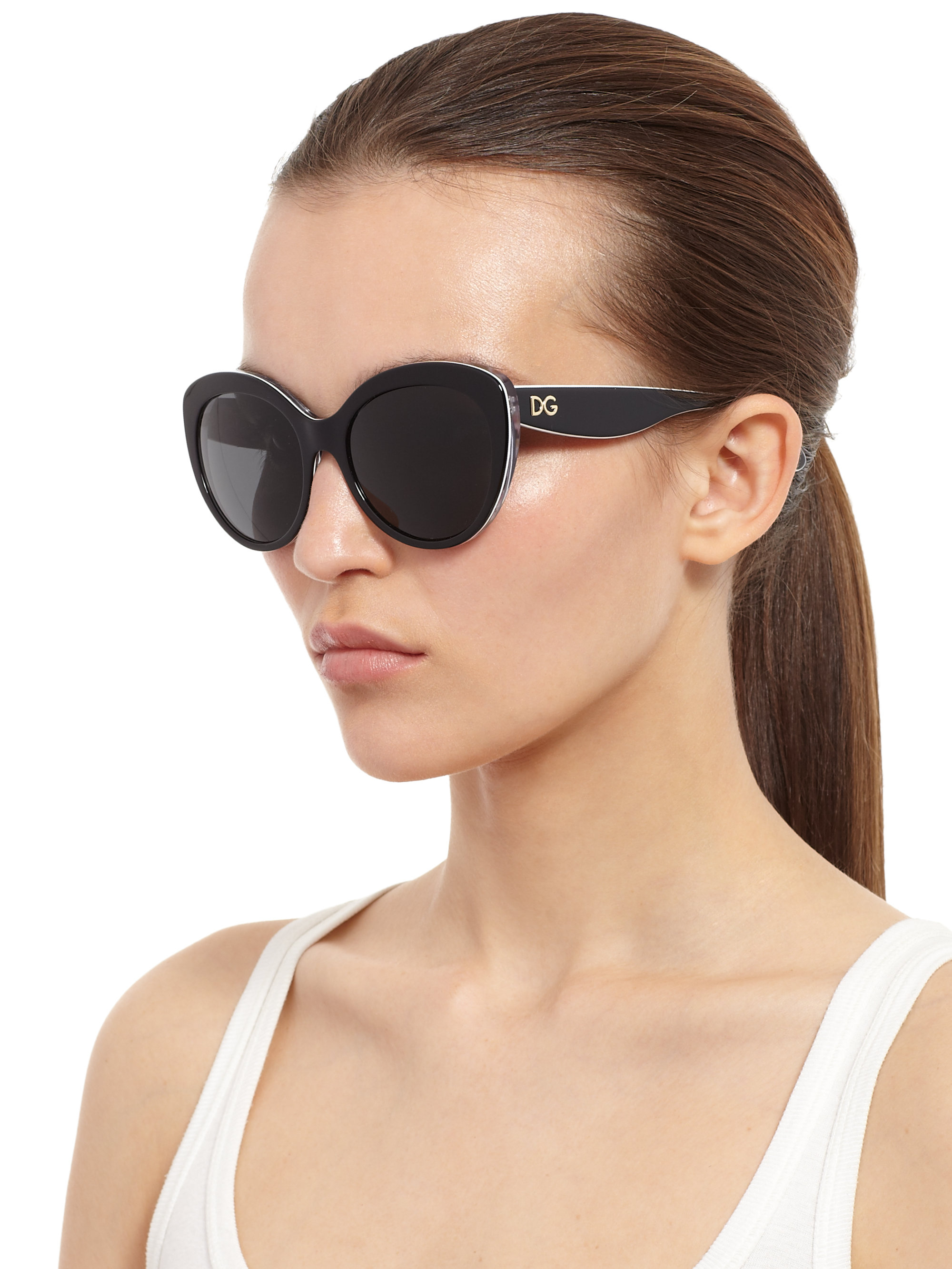 6510fb9997205 Gallery. Previously sold at  Saks Fifth Avenue · Women s Cat Eye Sunglasses
