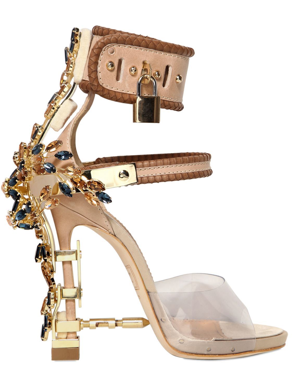 DSquared2 Jeweled Stiletto Sandal uH4UQ