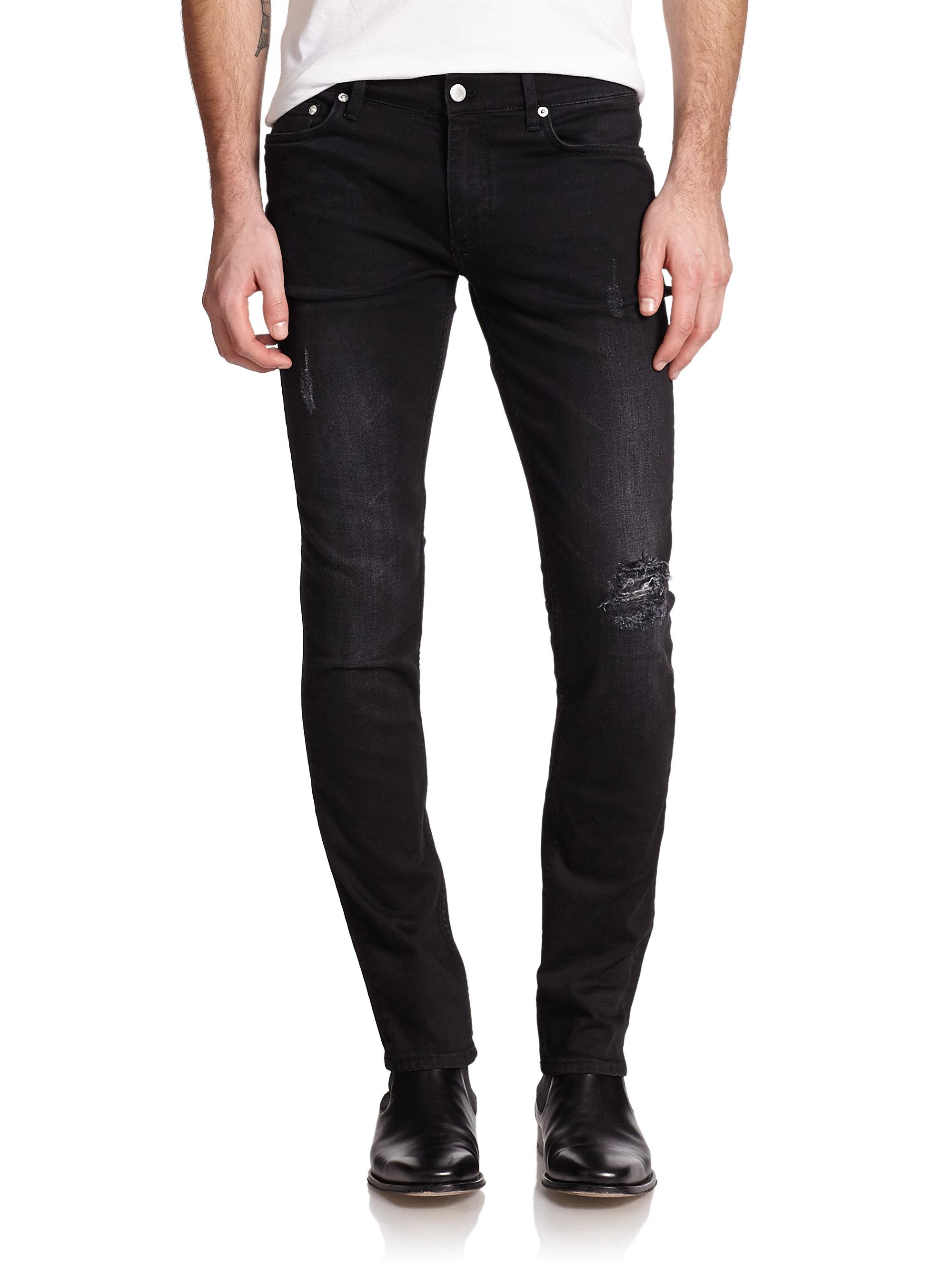 Dc Hbx Blk Dnm 25 Skinny Fit Jeans In Black For Men Lyst