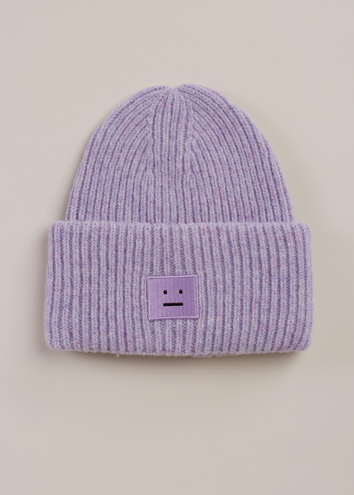 b5f99ea34ec Lyst - Acne Studios Lavender Pansy Shet Hat in Purple