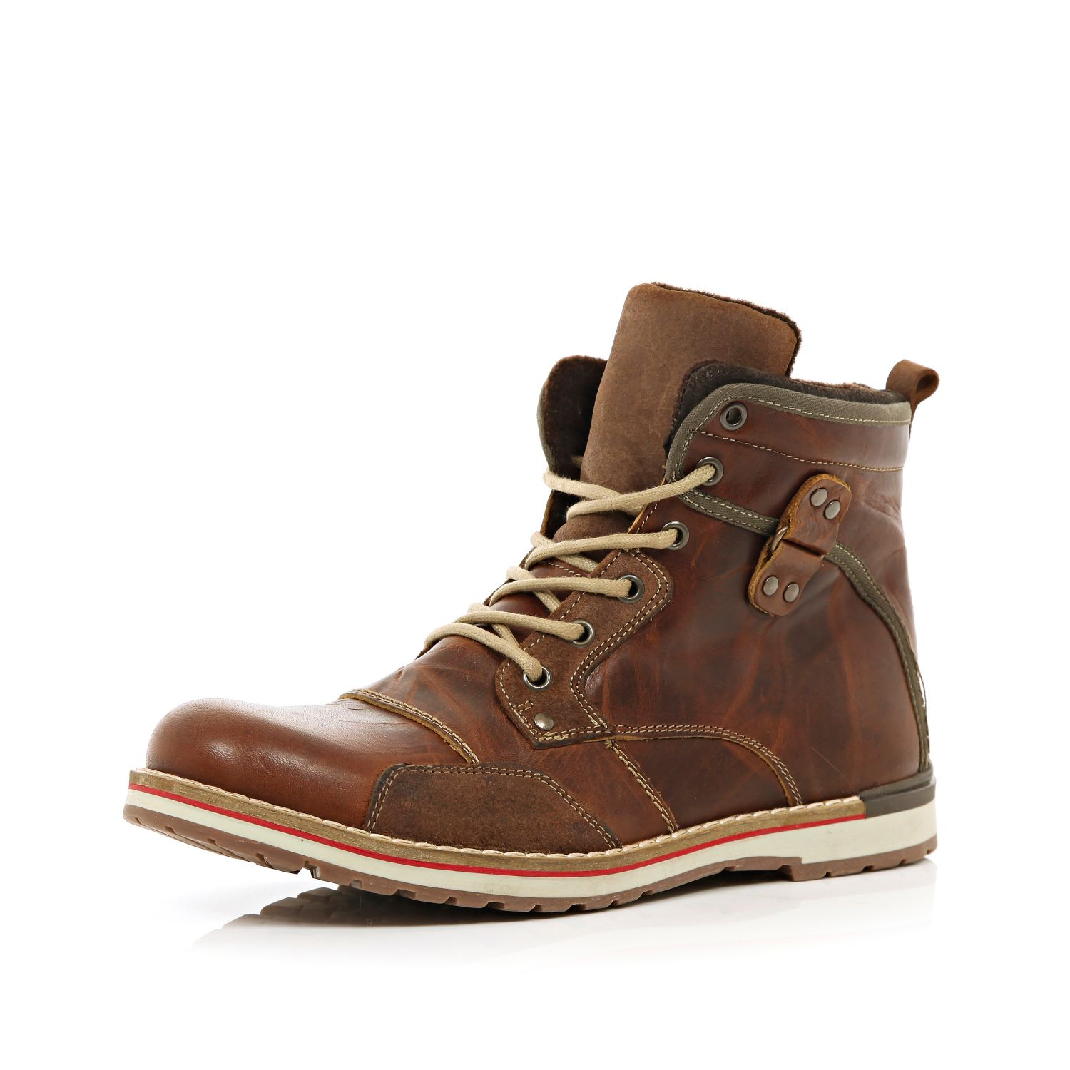 River Island Lace-up boots - brown w1Bszf