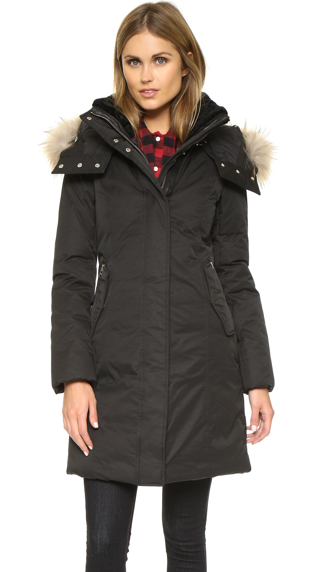 Lyst Mackage Kerry Coat In Black