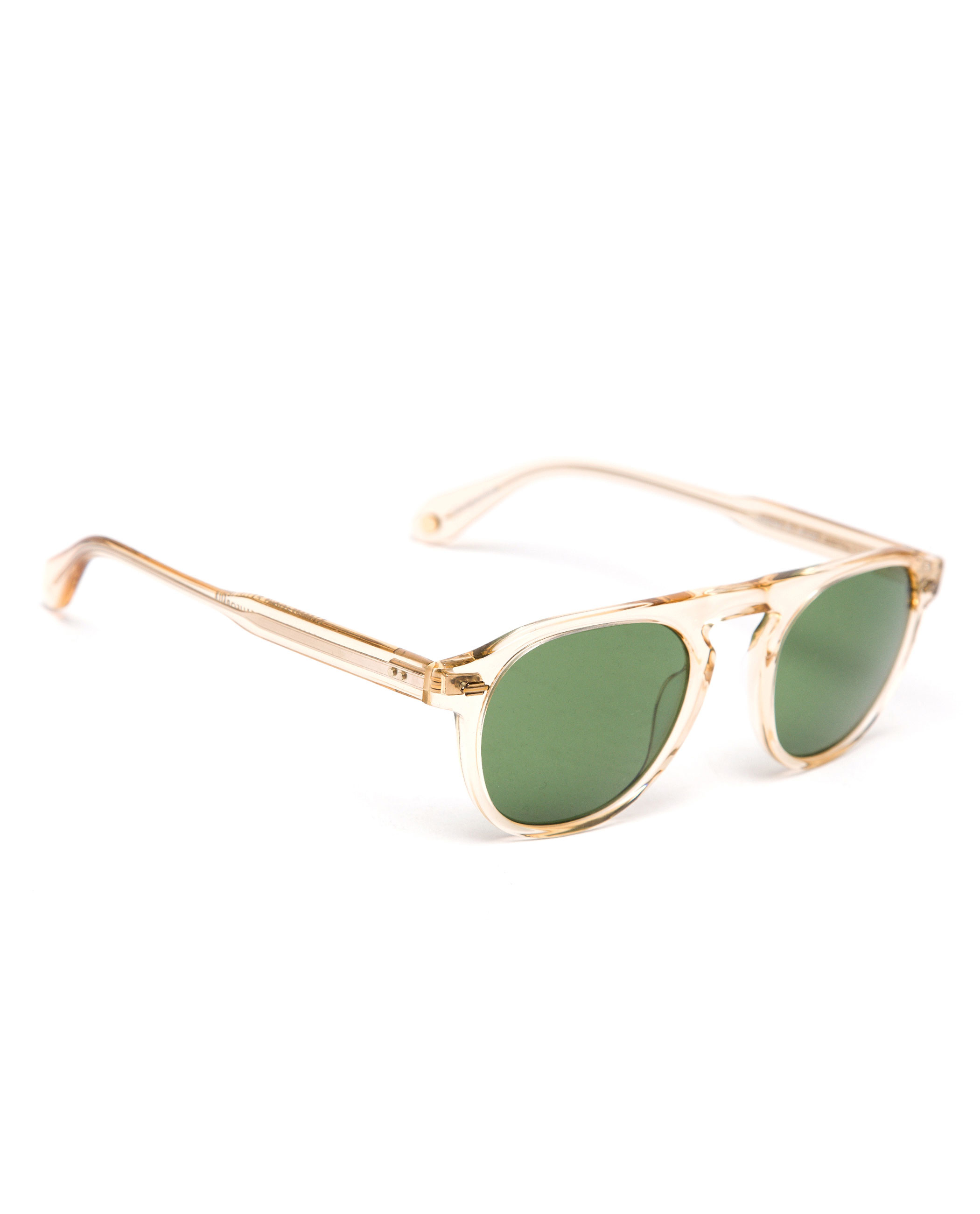 Lyst - Garrett Leight Transparent Frame Harding Sunglasses in ...