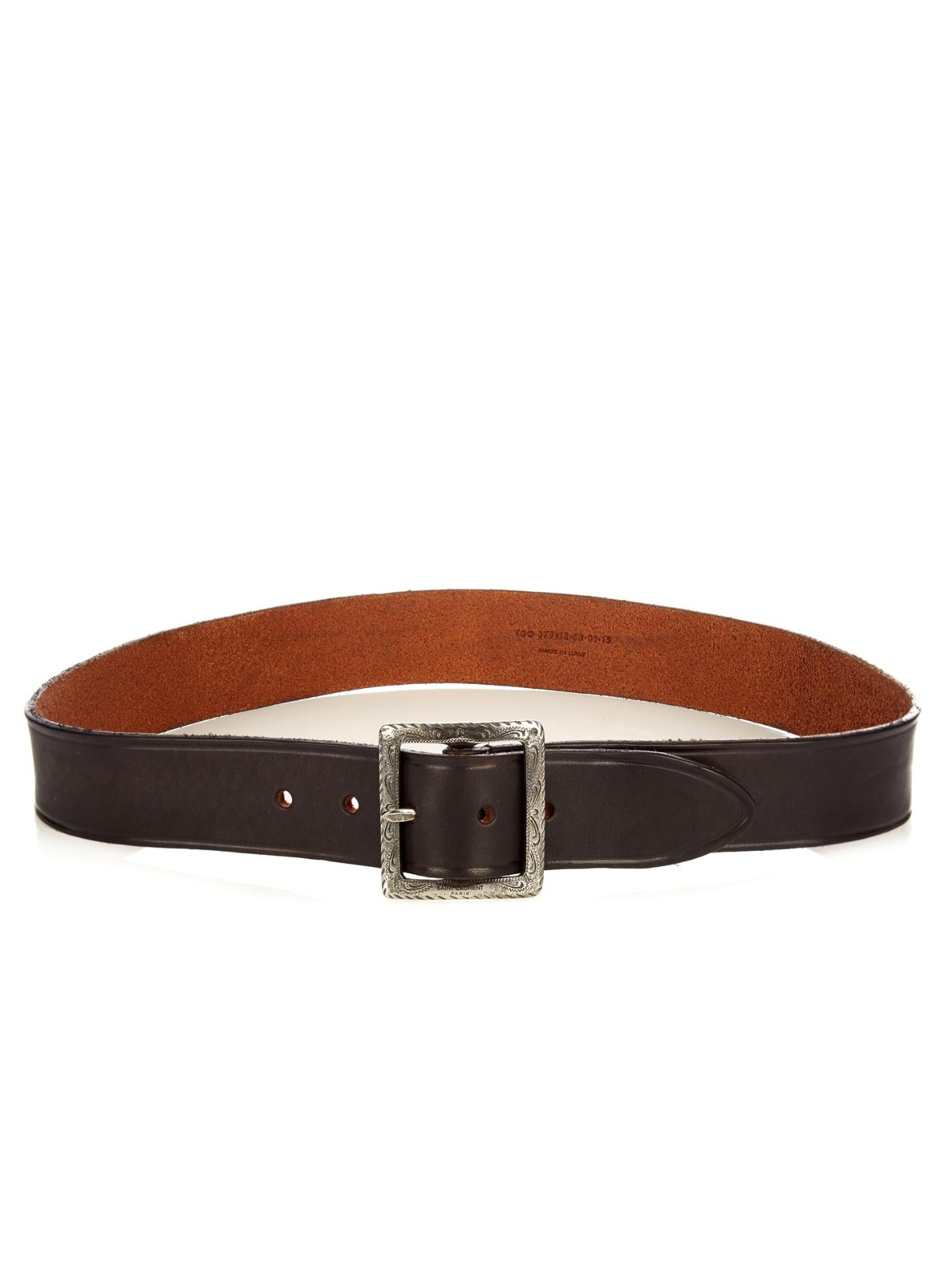 embossed belt - Brown Saint Laurent SqJYD5M