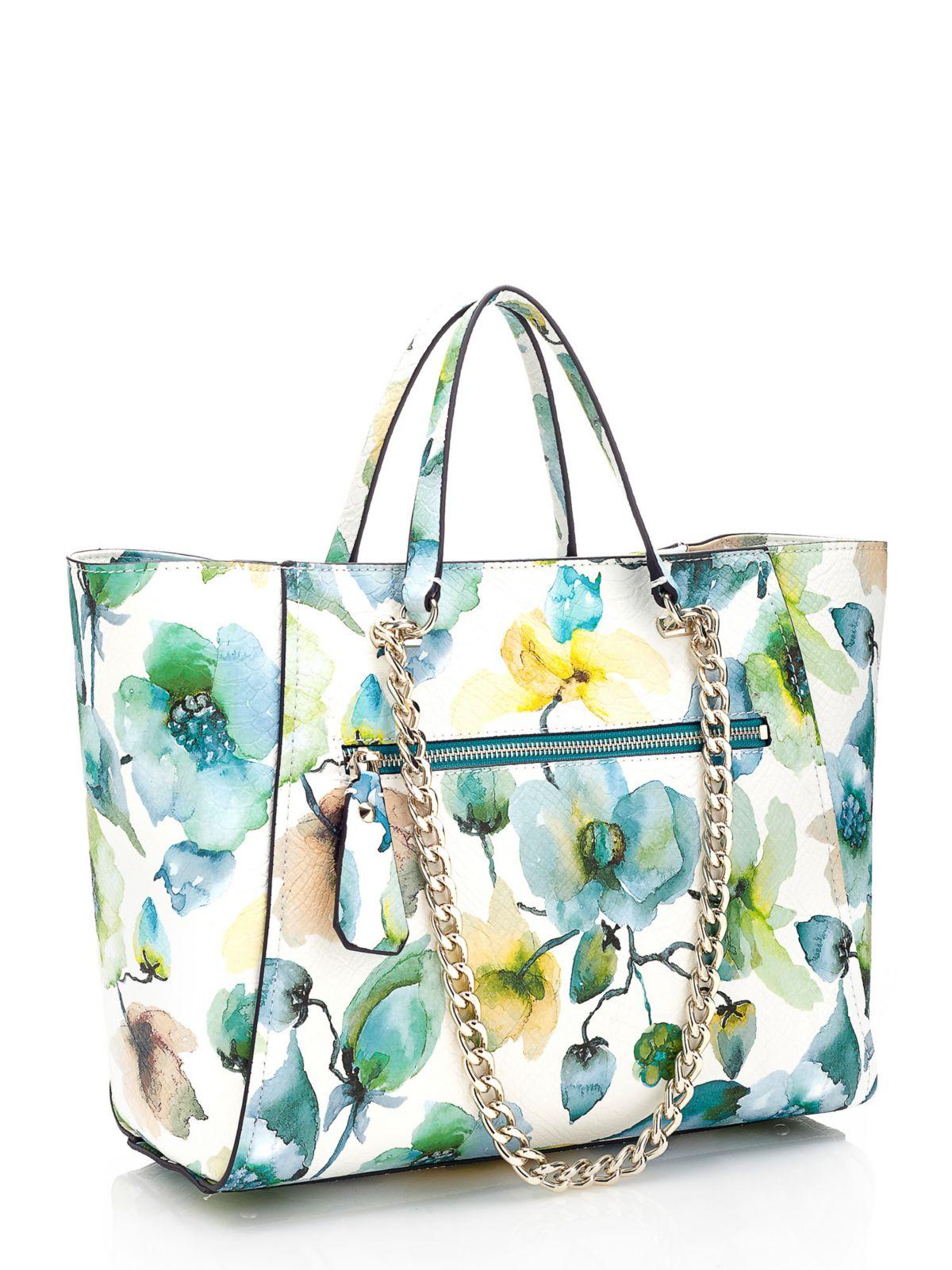 Guess Nikki Floral Print Bag | Lyst