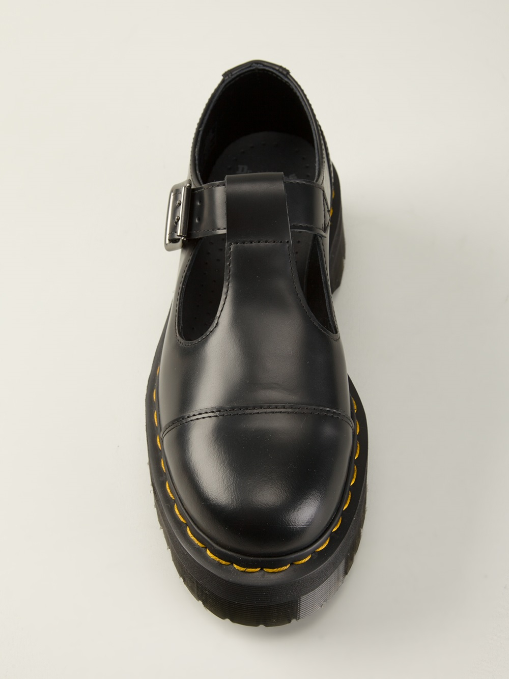 Dr Martens Bethan T Bar Shoes In Black