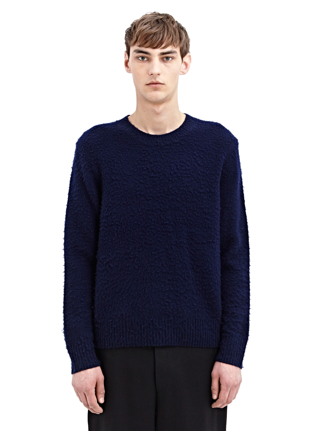 Acne studios Studios Mens Peele Cashmere Wool Sweater in Blue for ...