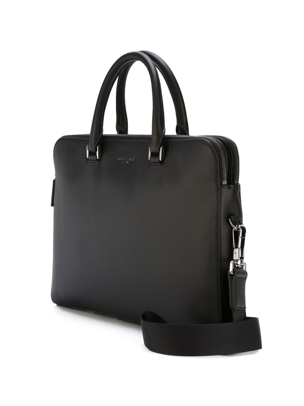 Michael kors Classic Briefcase in Black for Men
