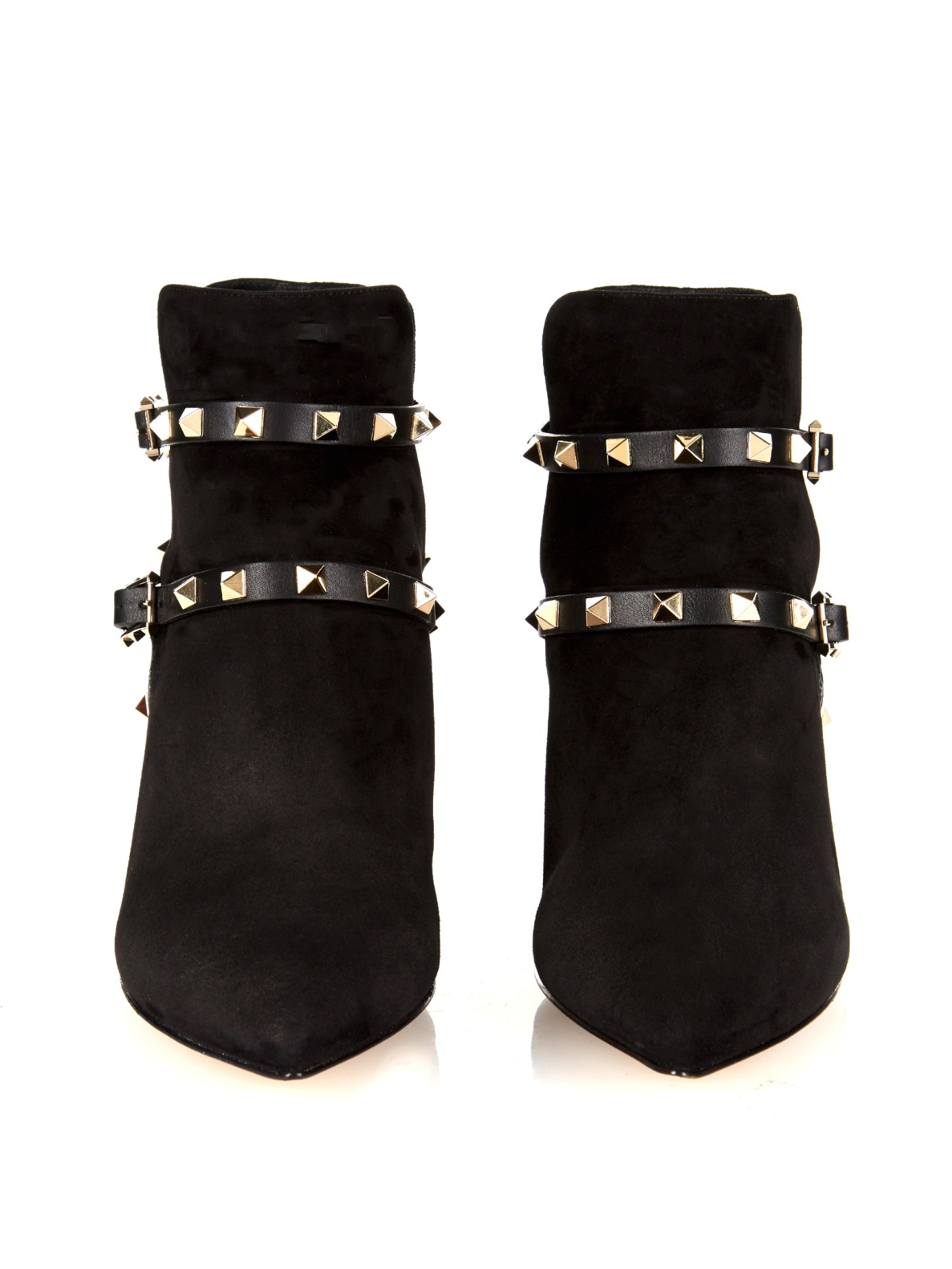 Valentino Suede Rockstud Booties new cheap online visa payment for sale geniue stockist cheap price outlet huge surprise fQFbpvh29