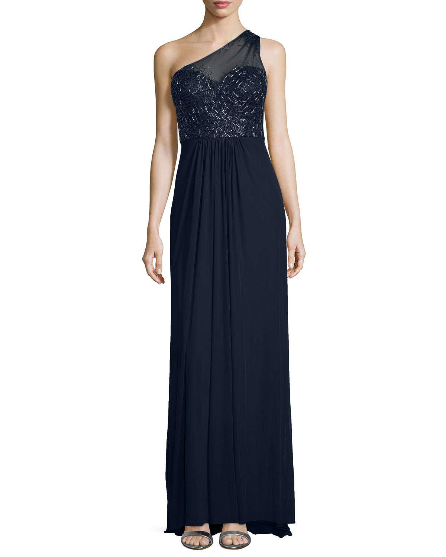 Confirm. La femme one shoulder dress well