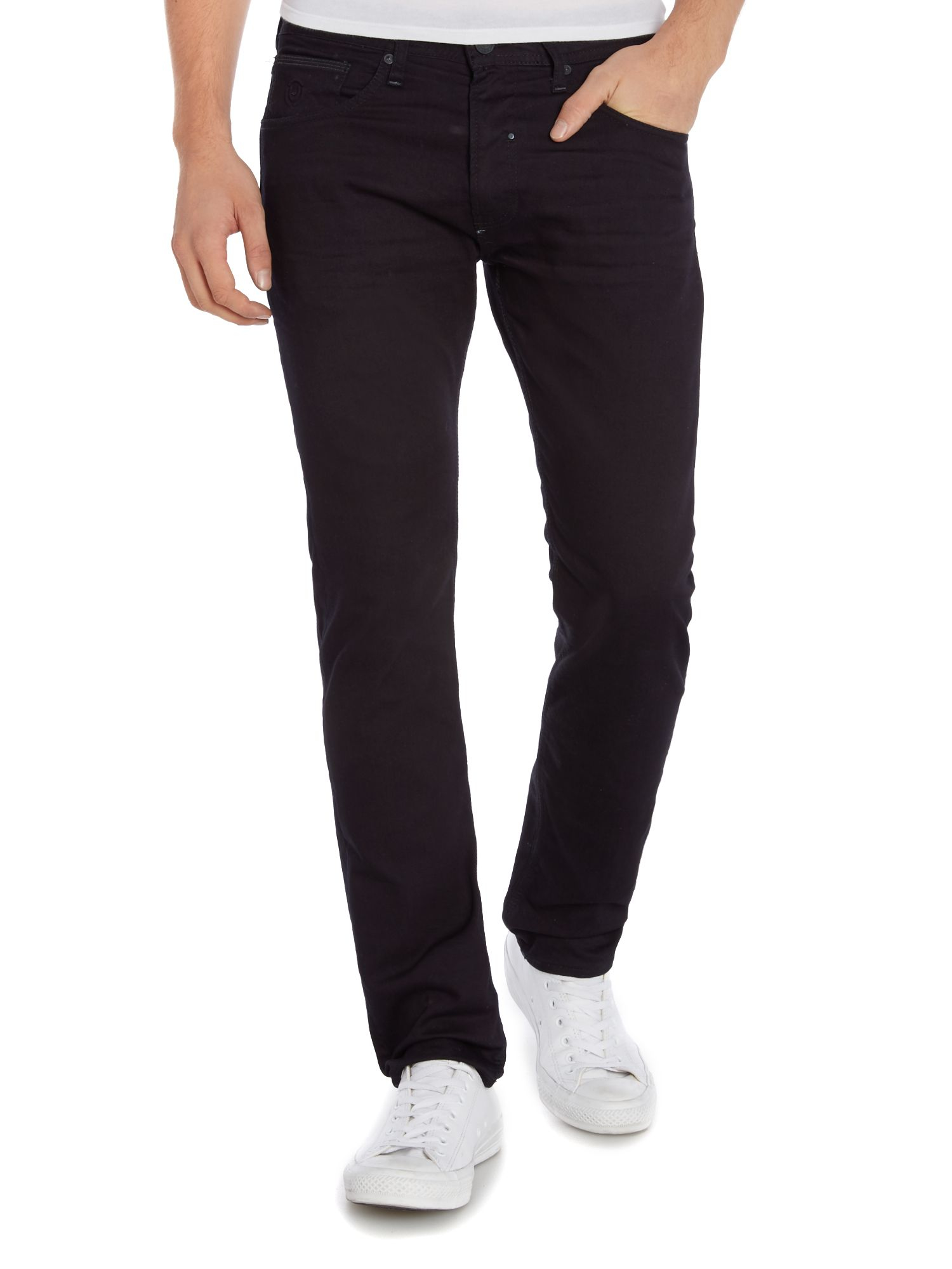 duck and cover boxren jeans straight tapered in blue for men lyst. Black Bedroom Furniture Sets. Home Design Ideas
