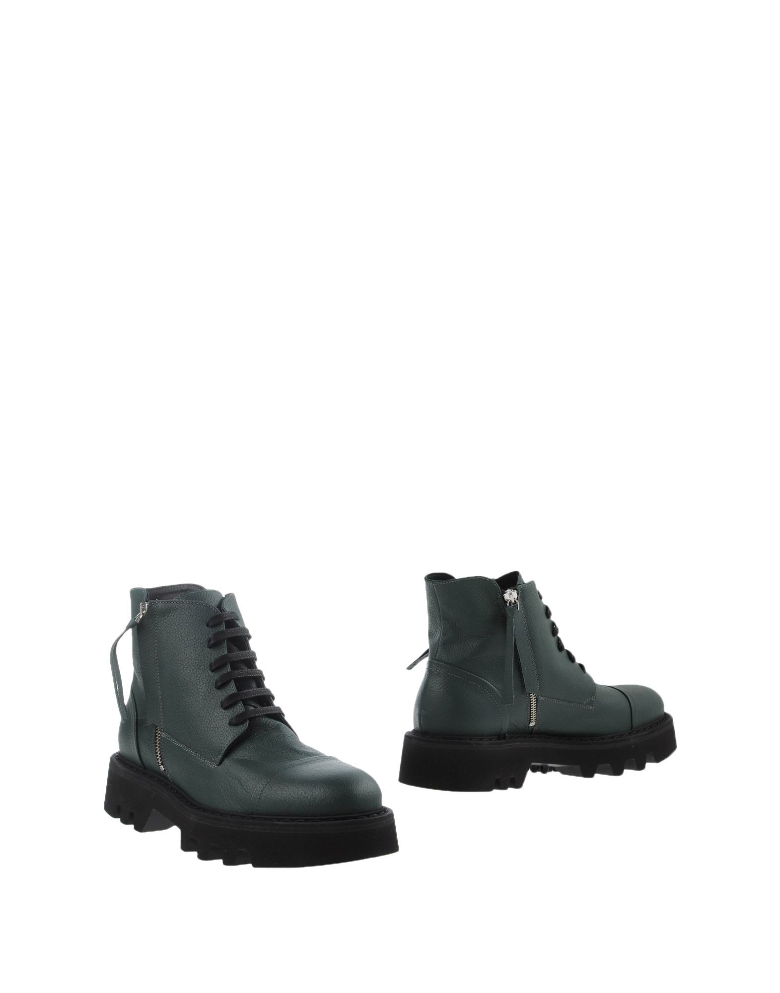 bruno bordese ankle boots in green for lyst