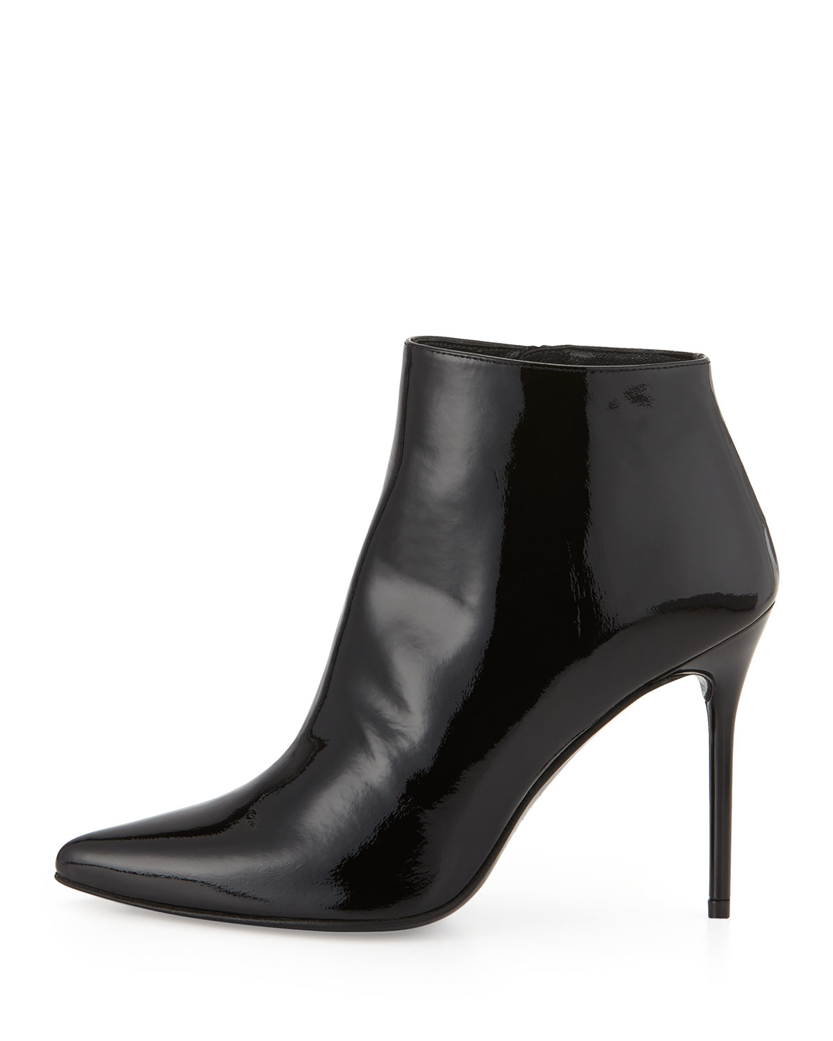 Stuart Weitzman Vienna Patent Leather Ankle Boot (Women's) EvSGD