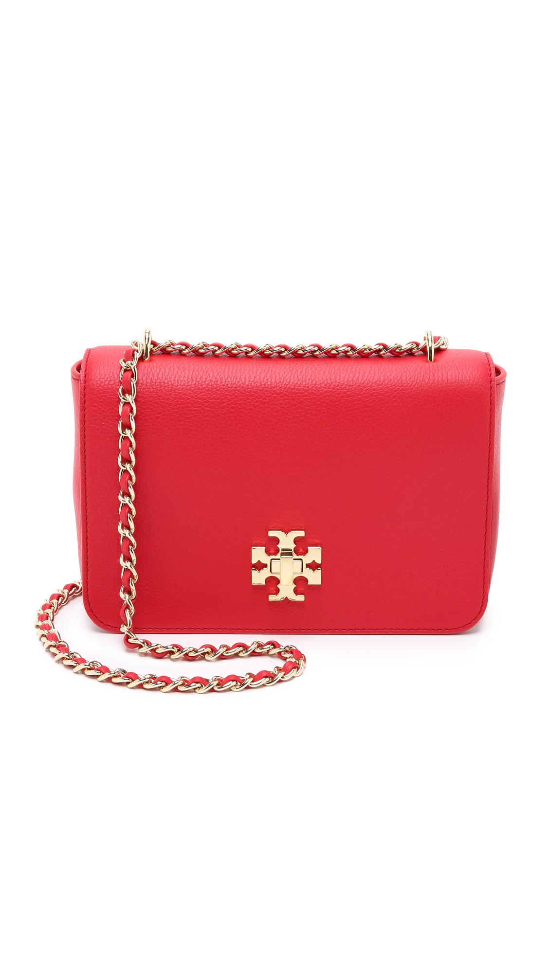 fdf3af866281 Tory Burch Mercer Adjustable Shoulder Bag - Vermillion in Red - Lyst