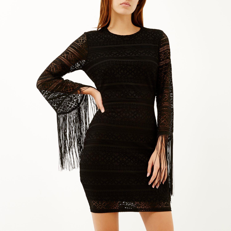 Tassel Dresses with Sleeves
