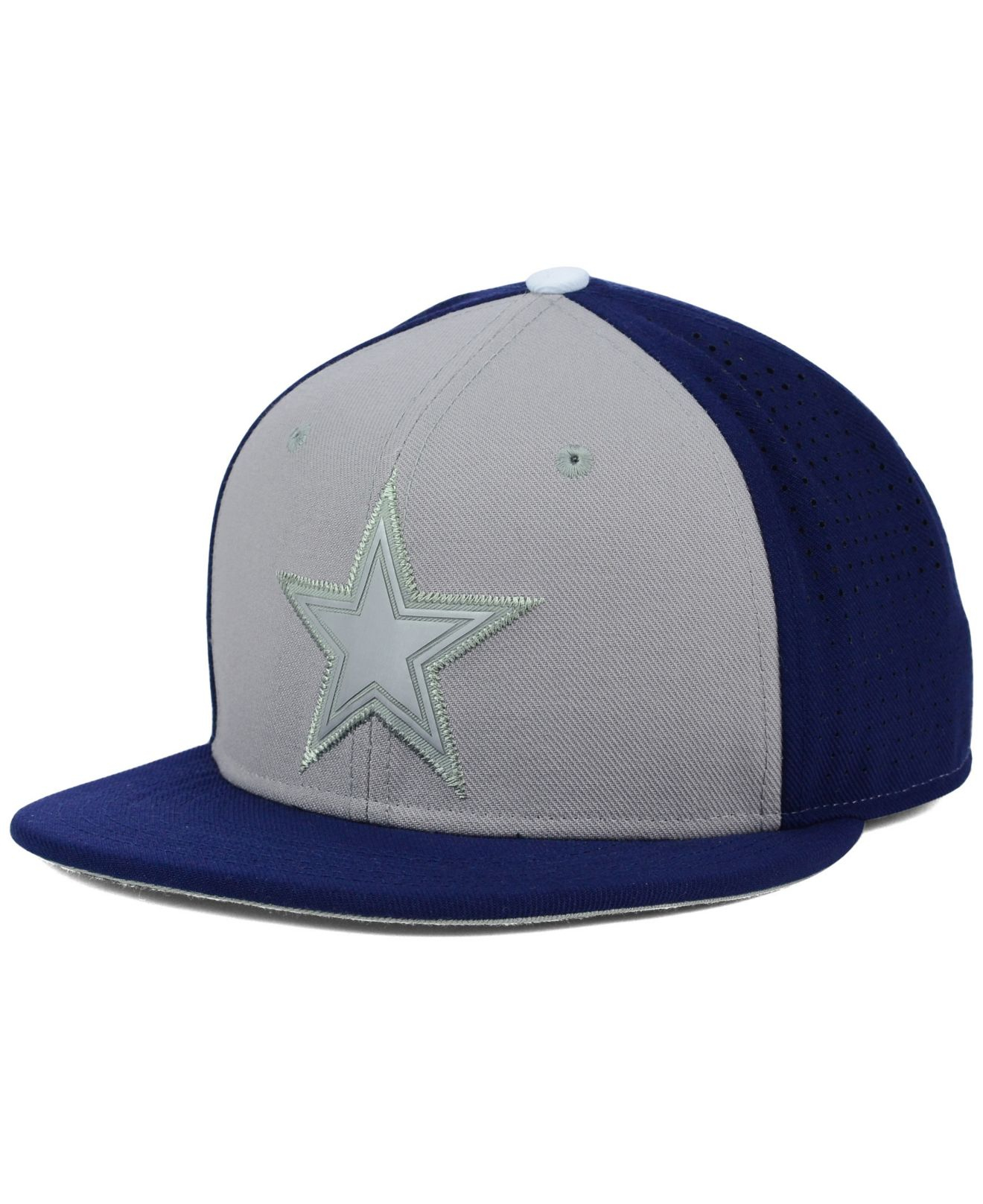... new zealand lyst nike dallas cowboys true vapor fitted cap in gray for  men 932e0 2d29d 634ab4777af7