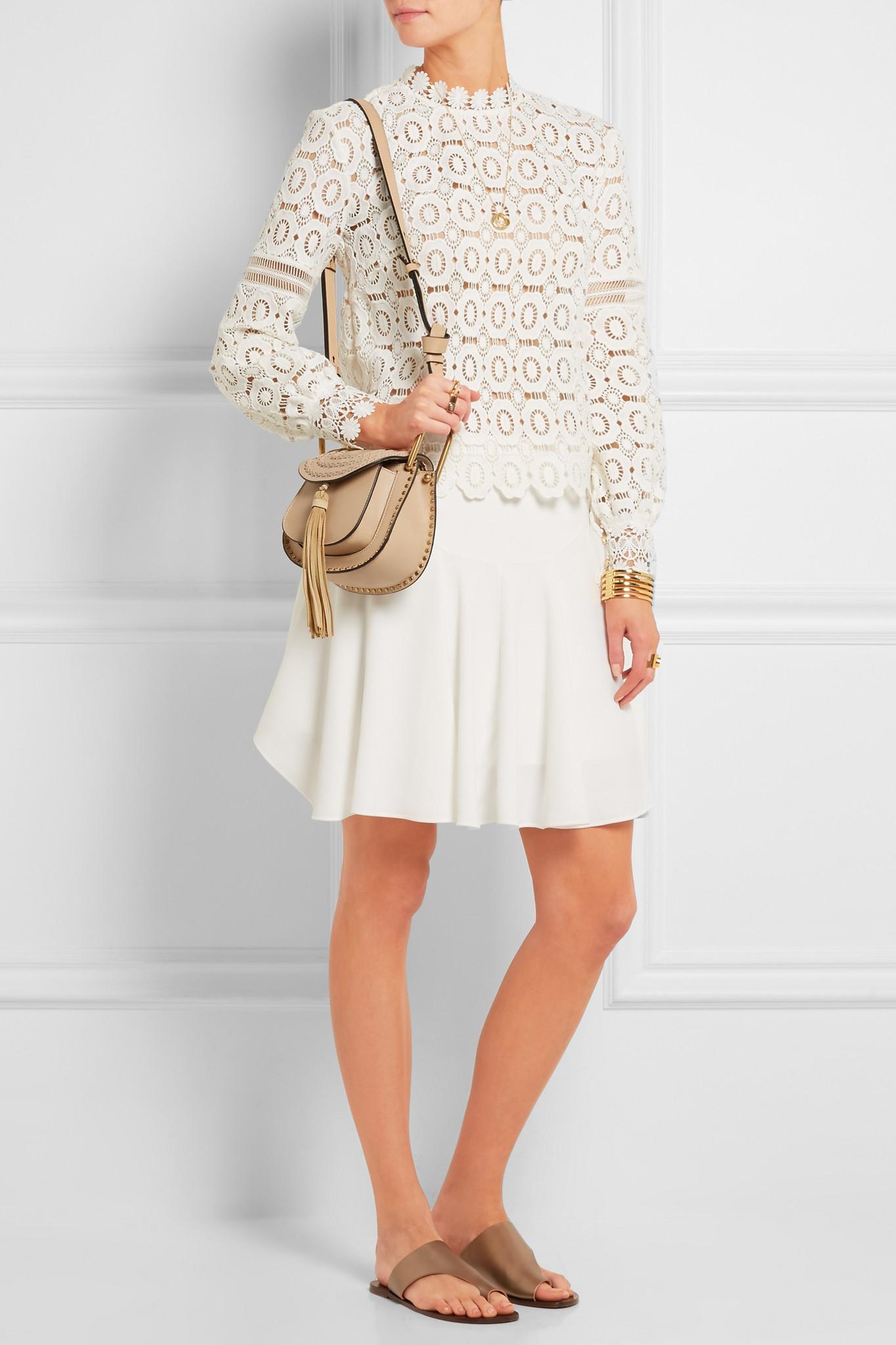 replica chloe shoes - chloe hudson mini whipstitched leather shoulder bag, chloe marcie ...