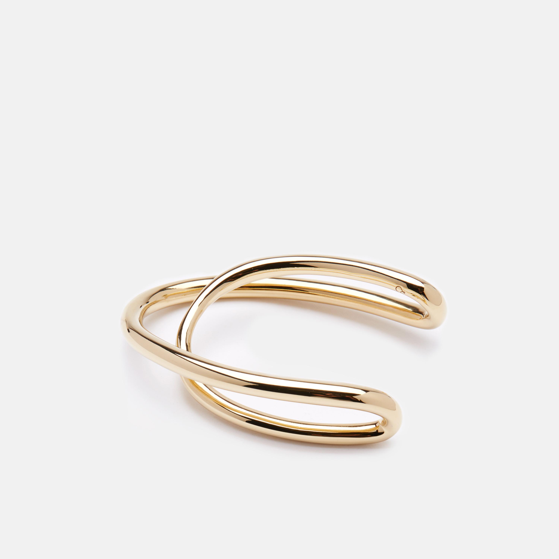 Charlotte Chesnais Initial bracelet - Metallic luQj5UTB