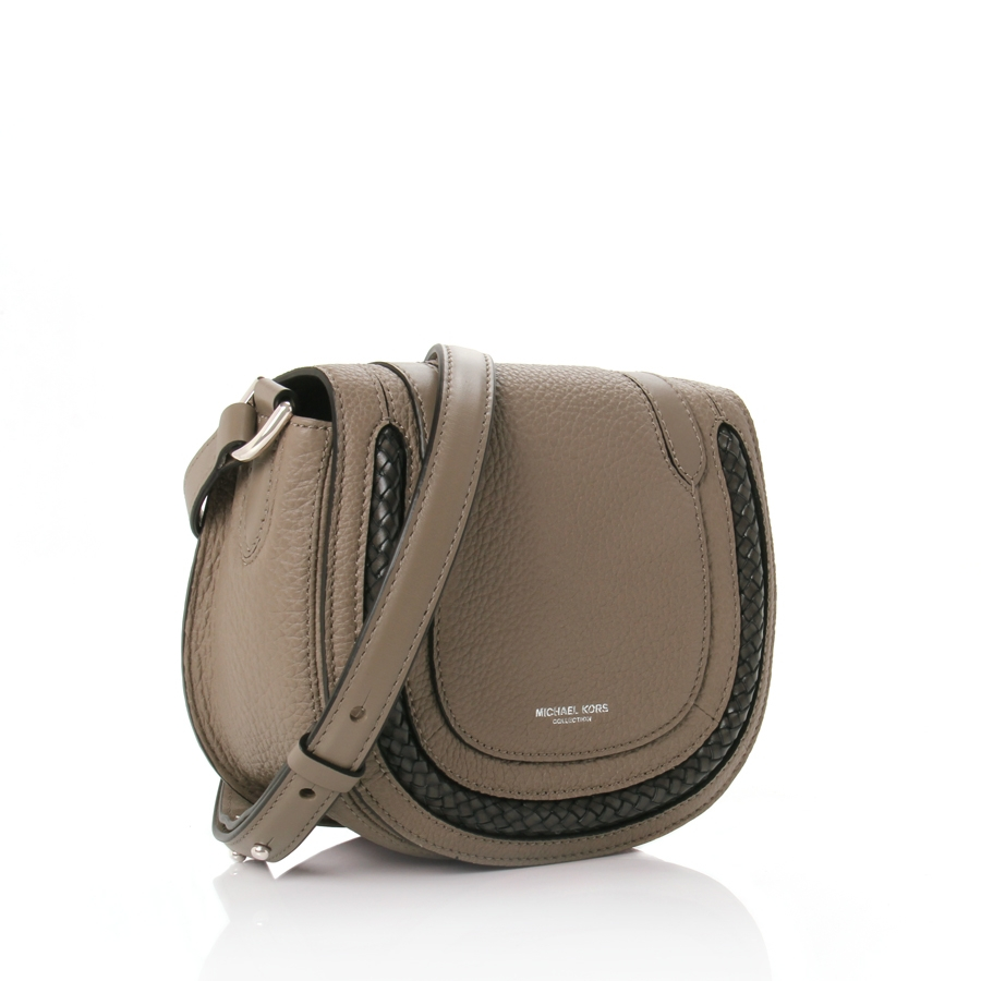 0f71ceff451d Lyst - Michael Kors Skorpios Small Crossbody Bag in Brown