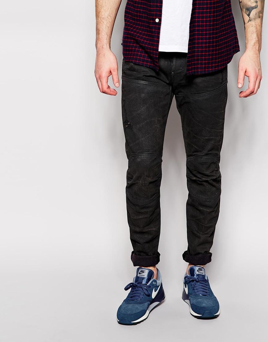 0db87e10ff2 G-Star RAW Jeans Elwood 5620 3d Slim Fit Cobler Dark Wash in Blue ...