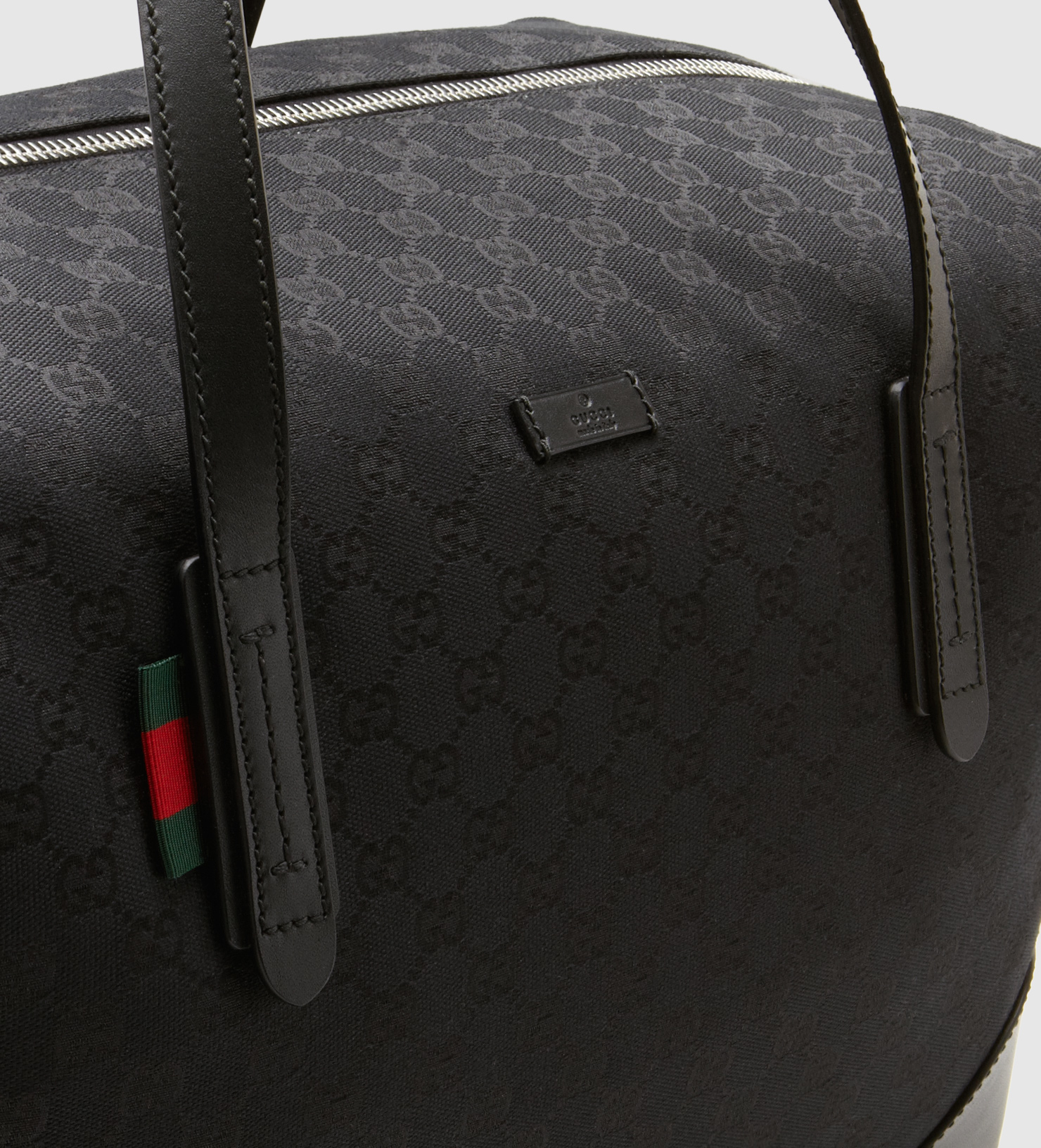 Lyst - Gucci Original Gg Canvas Carry-on Duffle Bag in Black for Men cae641340647e