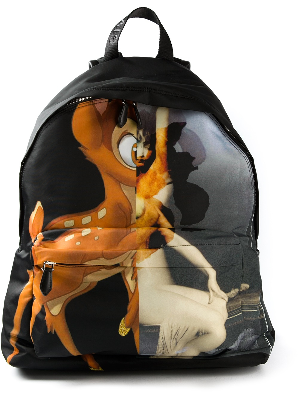 Lyst - Givenchy Bambi Print Backpack in Black for Men 82abb7455a6bf