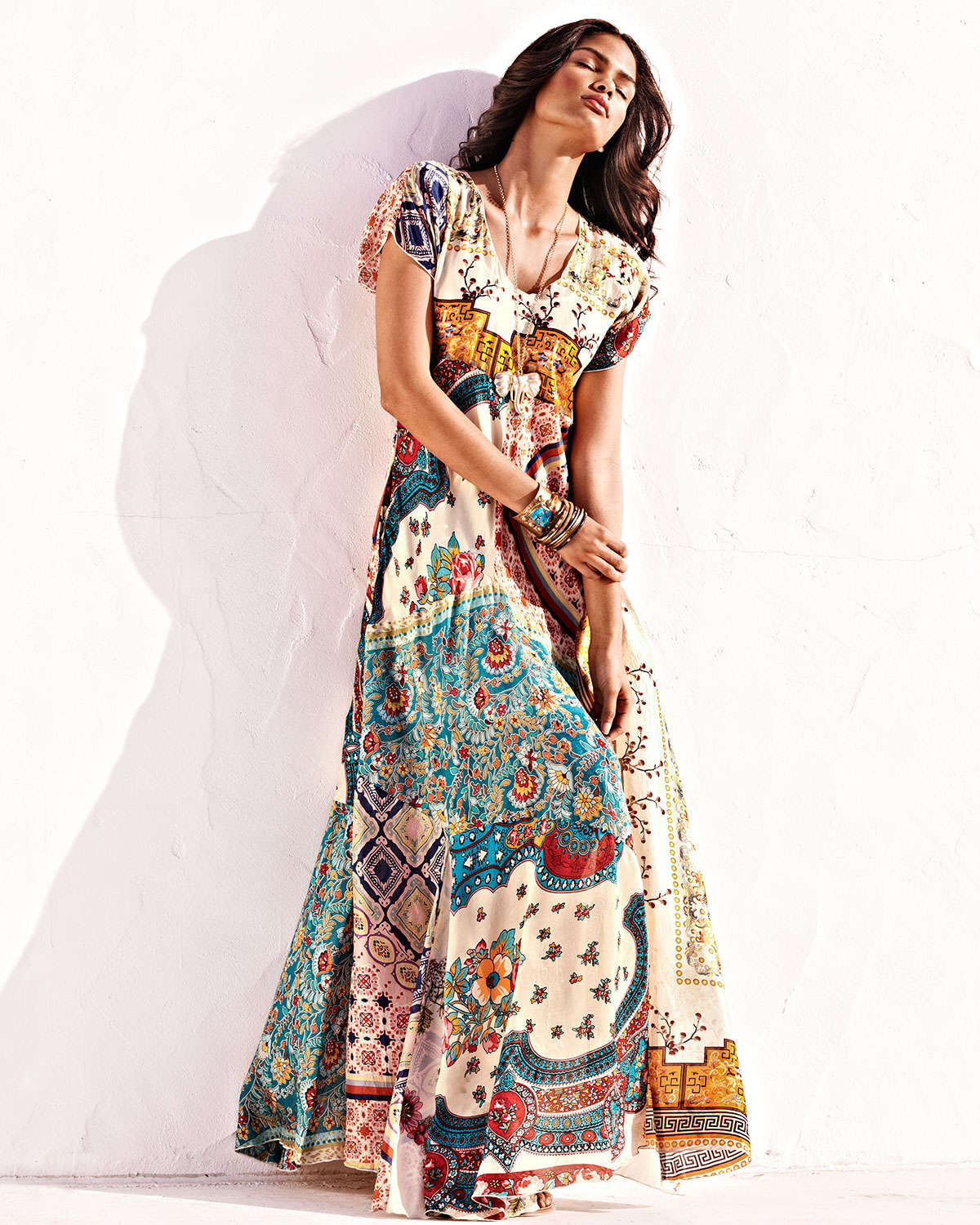 johnny was collection long patchwork dress product 1 594304251 normal