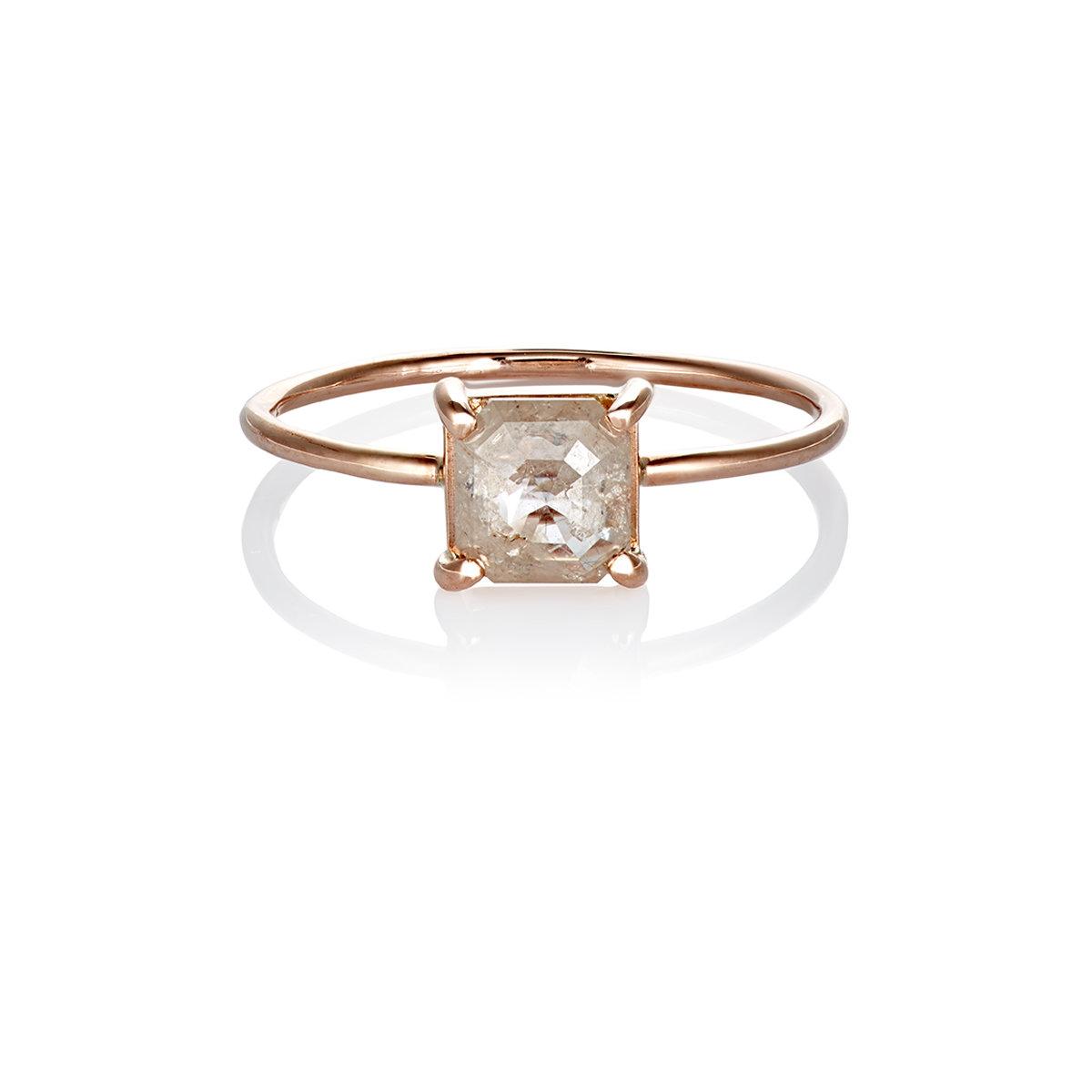 Grace Lee Designs 14-karat Gold, Pearl And Diamond Ring