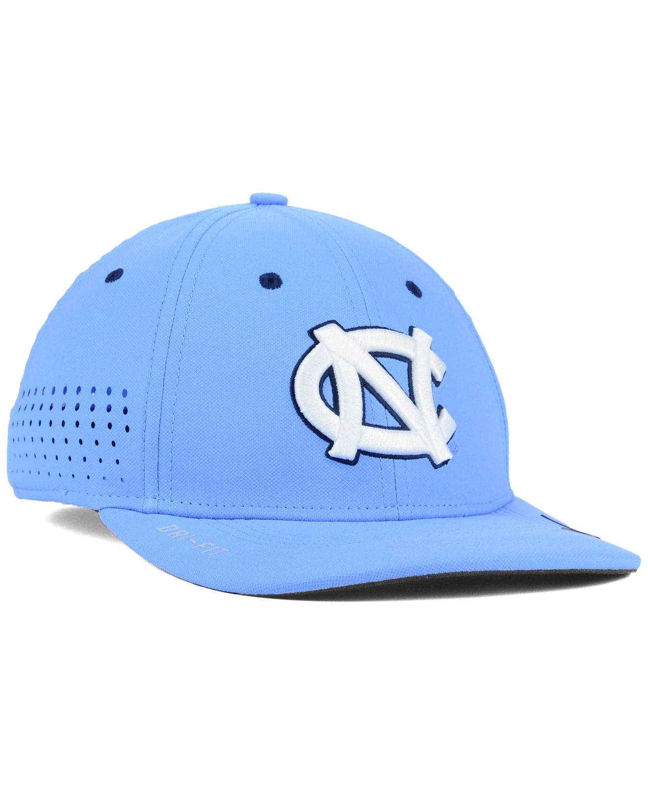 sale retailer 7344b 8354b ... reduced lyst nike north carolina tar heels sideline cap in blue for men  17b95 d46ef canada nike heritage86 ...