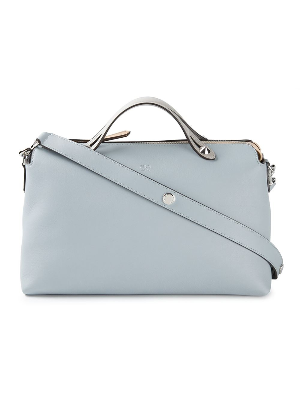 0f80d730ad0f Lyst - Fendi  By The Way  Tote in Blue