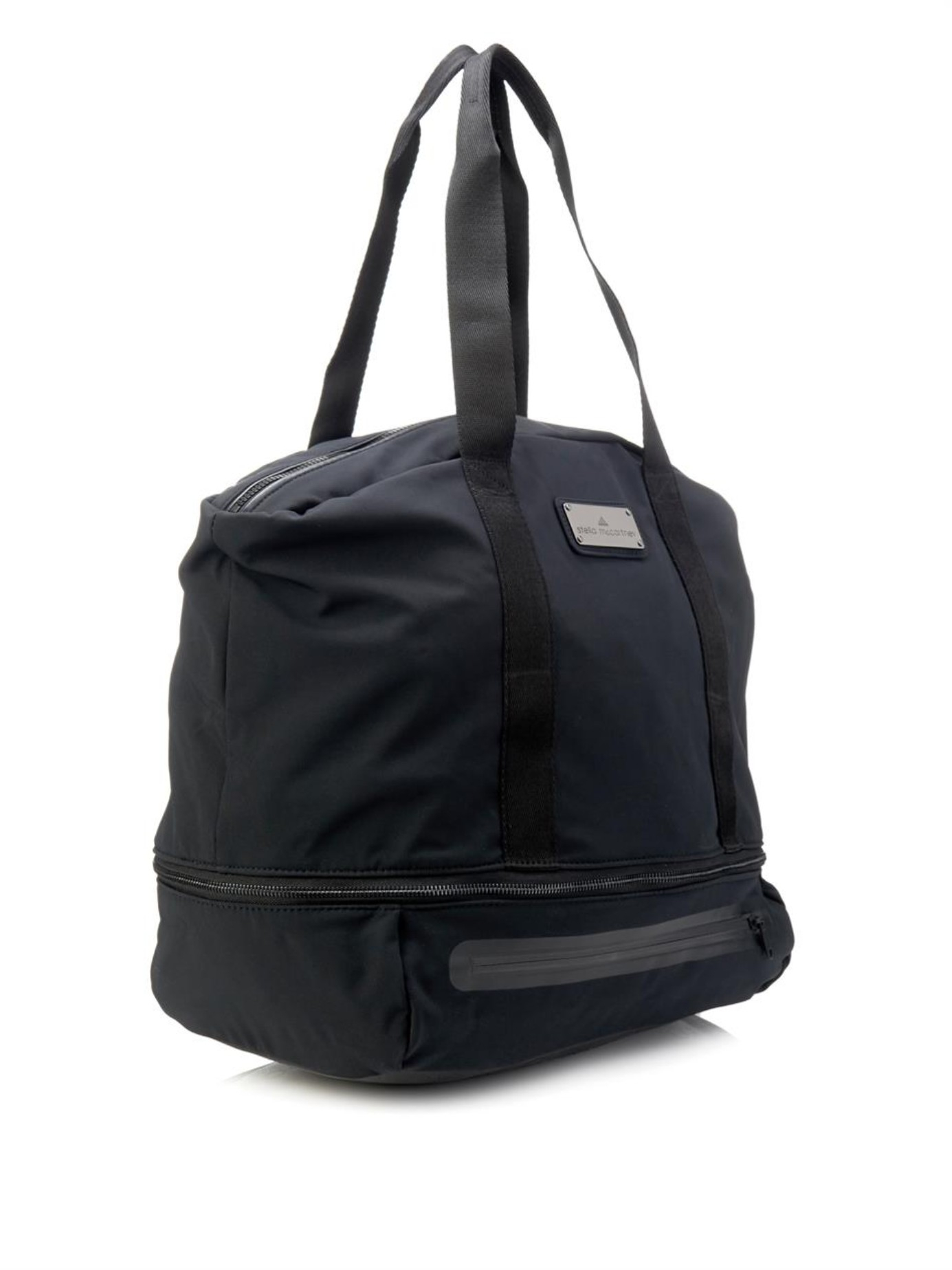 Lyst - adidas By Stella McCartney Iconic Big Bag in Black 908729f6762b8