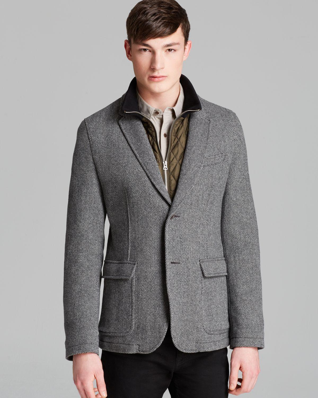 Lyst Burberry Brit Willson Wool Herringbone Sport Coat