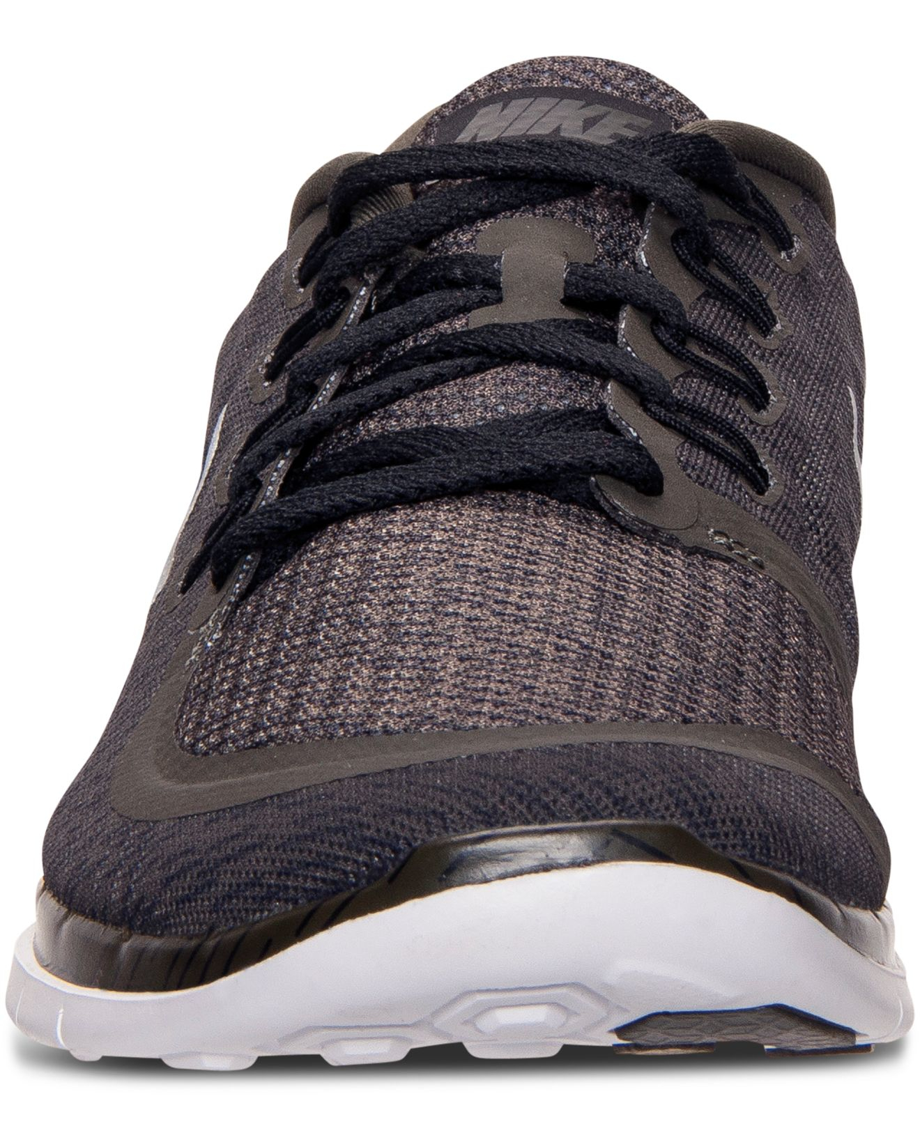 timeless design 06556 9def3 Lyst - Nike Men s Free 5.0 Print Running Sneakers From Finish Line in Black  for Men