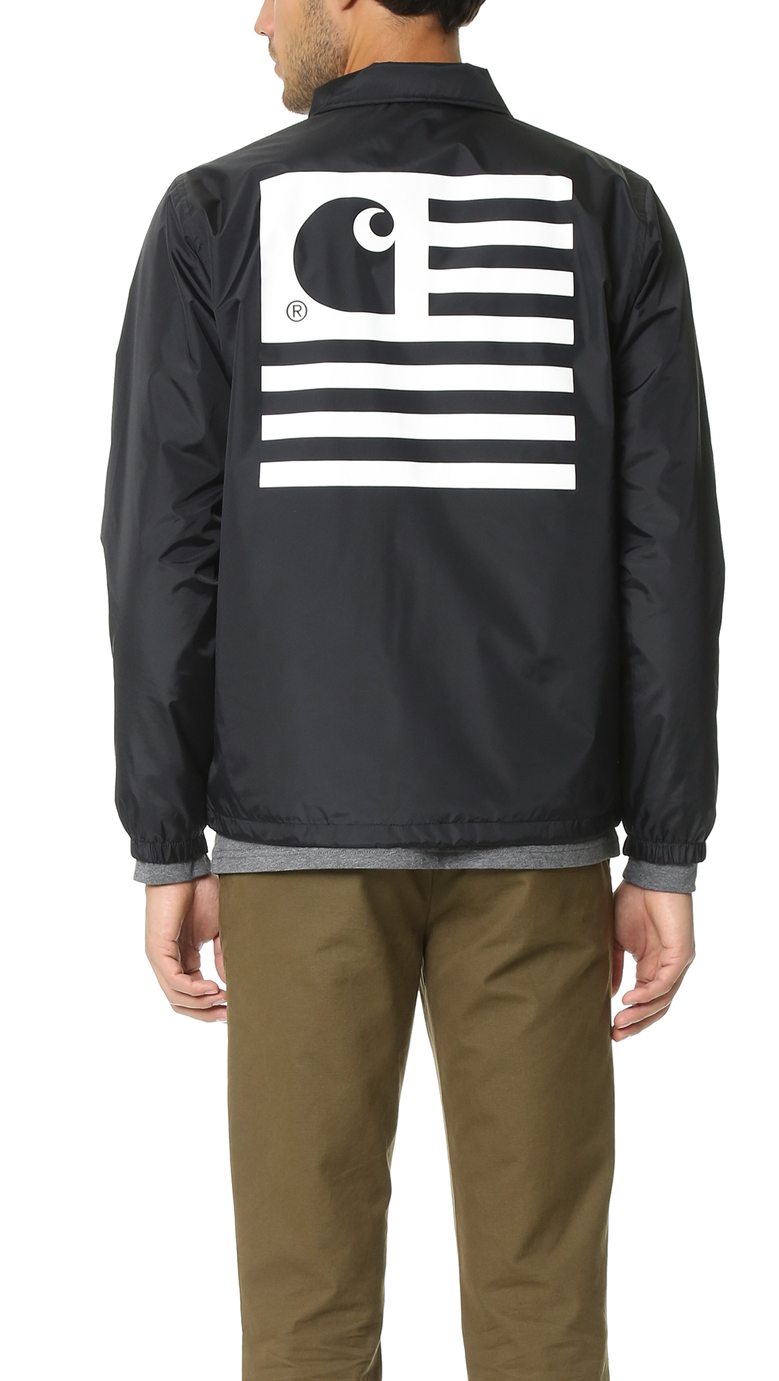0123e20f Carhartt WIP State Coach Jacket in Black for Men - Lyst
