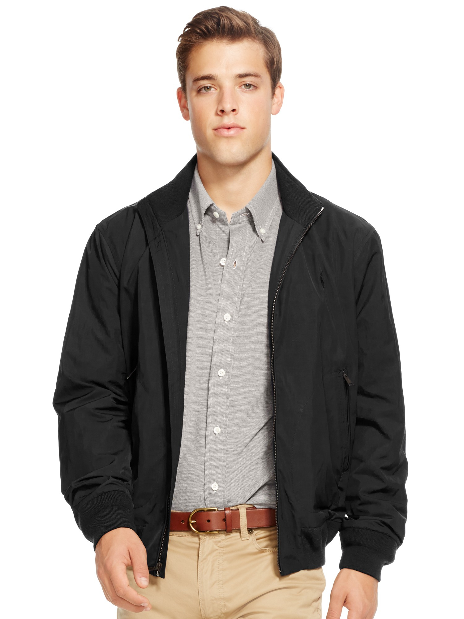 d95019b70ec7 Pink Pony Polo Barracuda Lined Jacket in Black for Men - Lyst