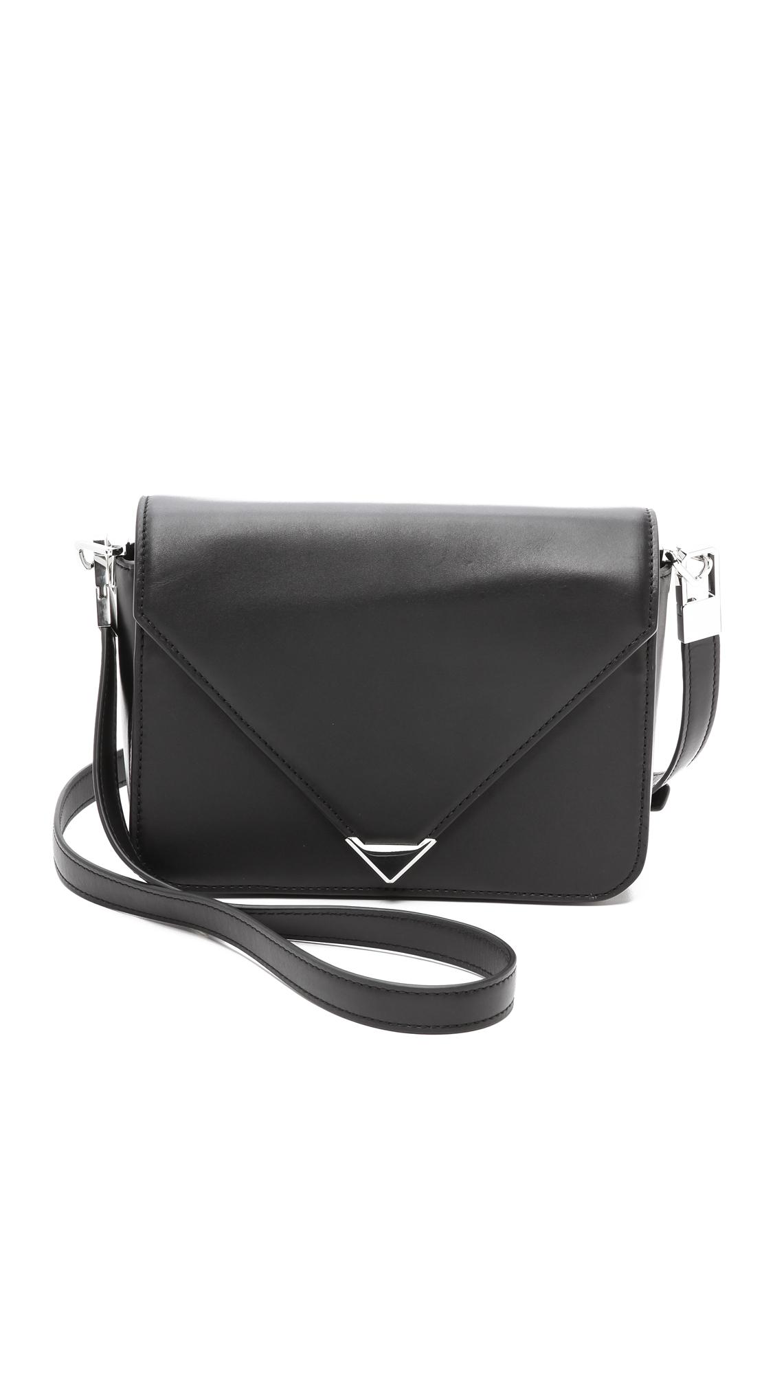 Alexander wang Prisma Envelope Small Sling Bag - Black in Black | Lyst