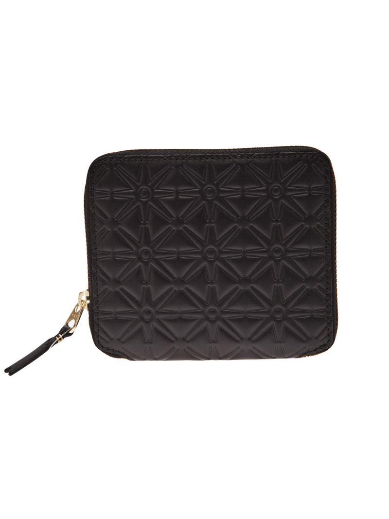 Embossed zip wallet Comme Des Gar?ons JKDYa