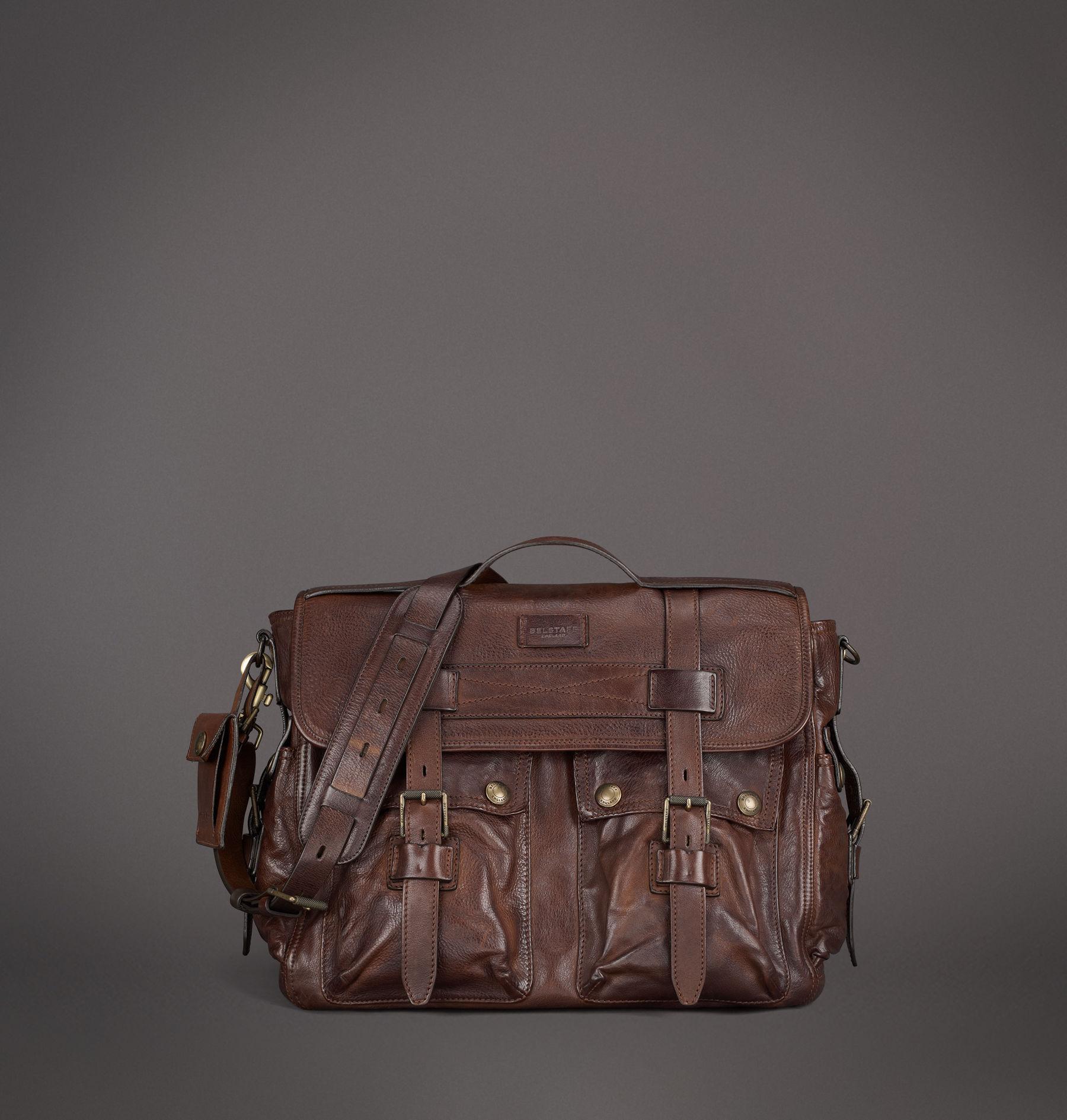 1b1c286539 Belstaff Hamden Bag in Brown for Men - Lyst