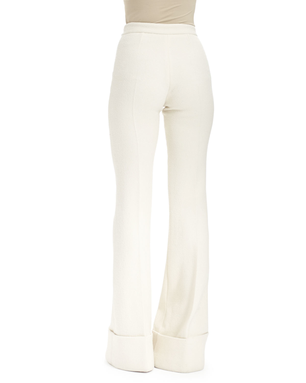 high waisted trousers - White Stella McCartney 0FhVQyuw