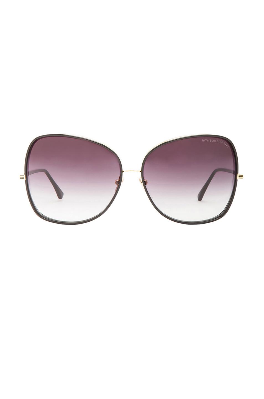 Dita Bluebird Two Sunglasses In Black Lyst