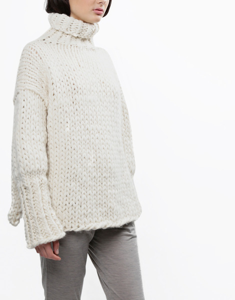 Wool and the gang sonic sweater in white lyst - Gang and the wool ...