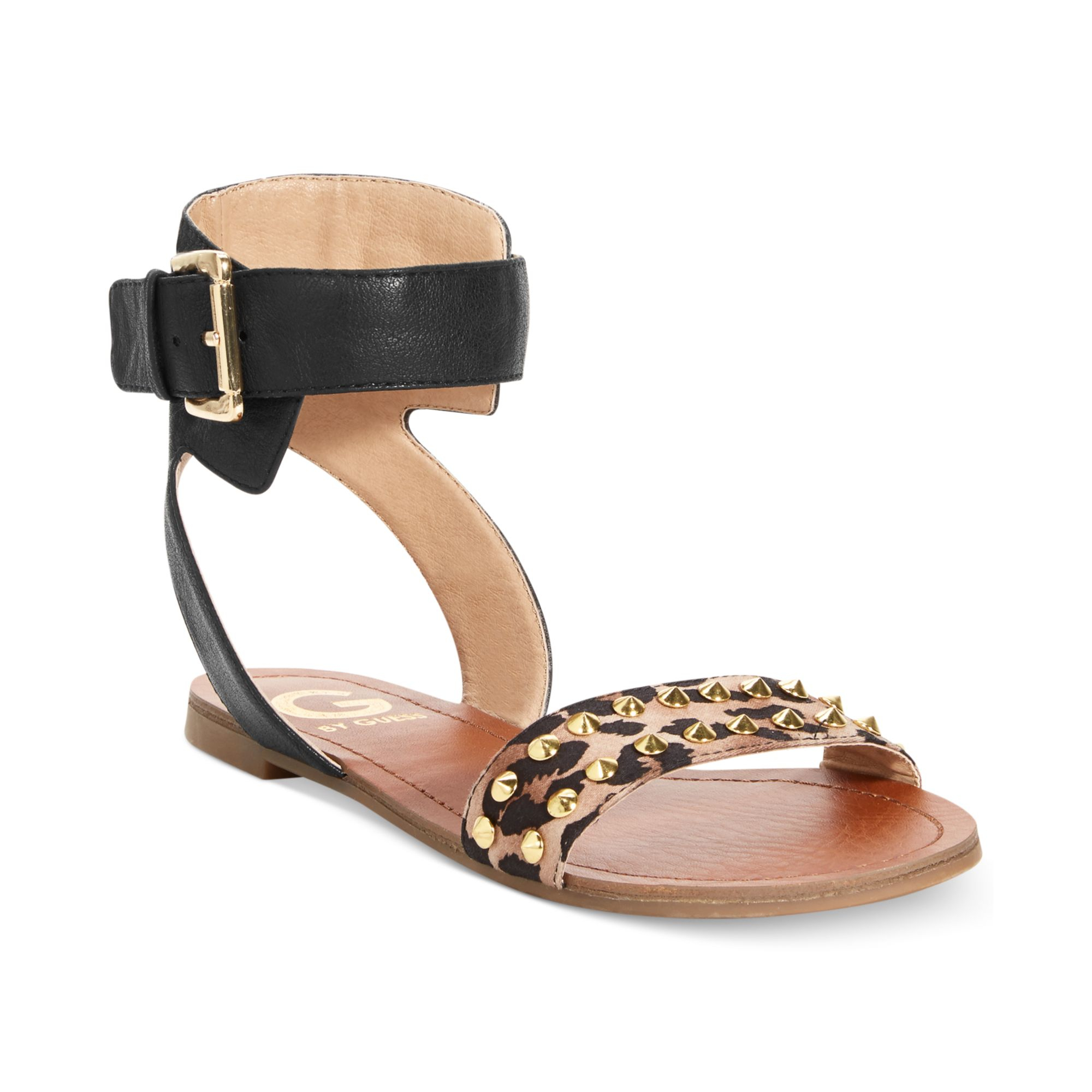 2127cc931 Lyst - G by Guess Womens Keeper Flat Sandals