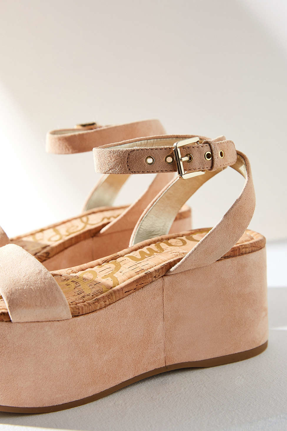 Sam Edelman Buckled flatform sandals