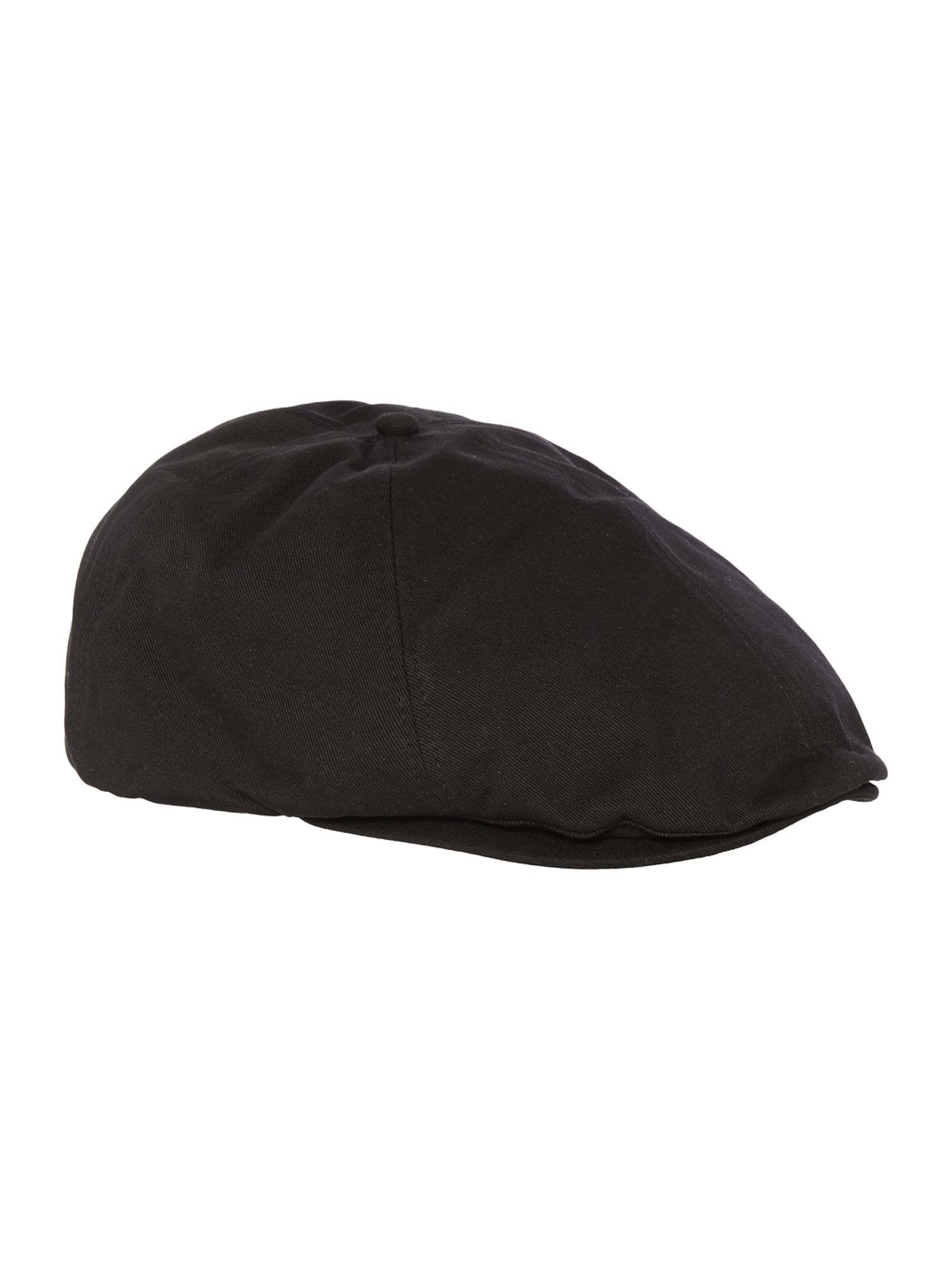 fred perry flat cap in black for men lyst. Black Bedroom Furniture Sets. Home Design Ideas