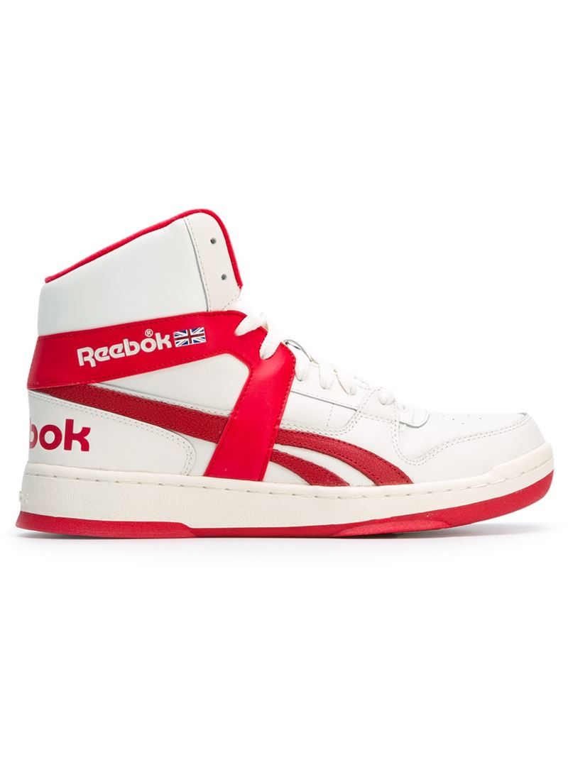 9e6898be3459 Lyst - Reebok  bb 5600  Hi-top Sneakers in Red for Men